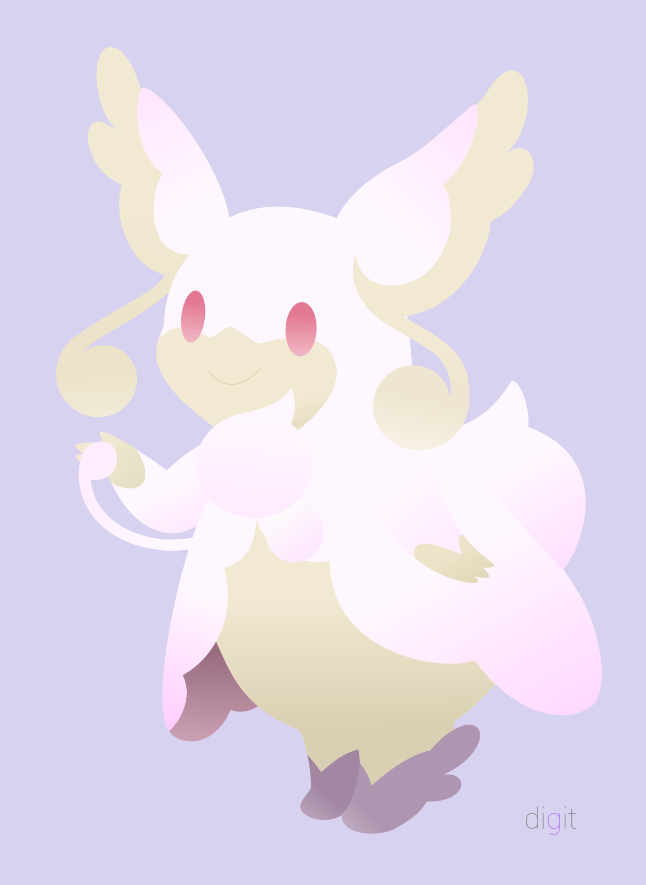 Request] Mega Audino (Background) by DigitGryphon on DeviantArt