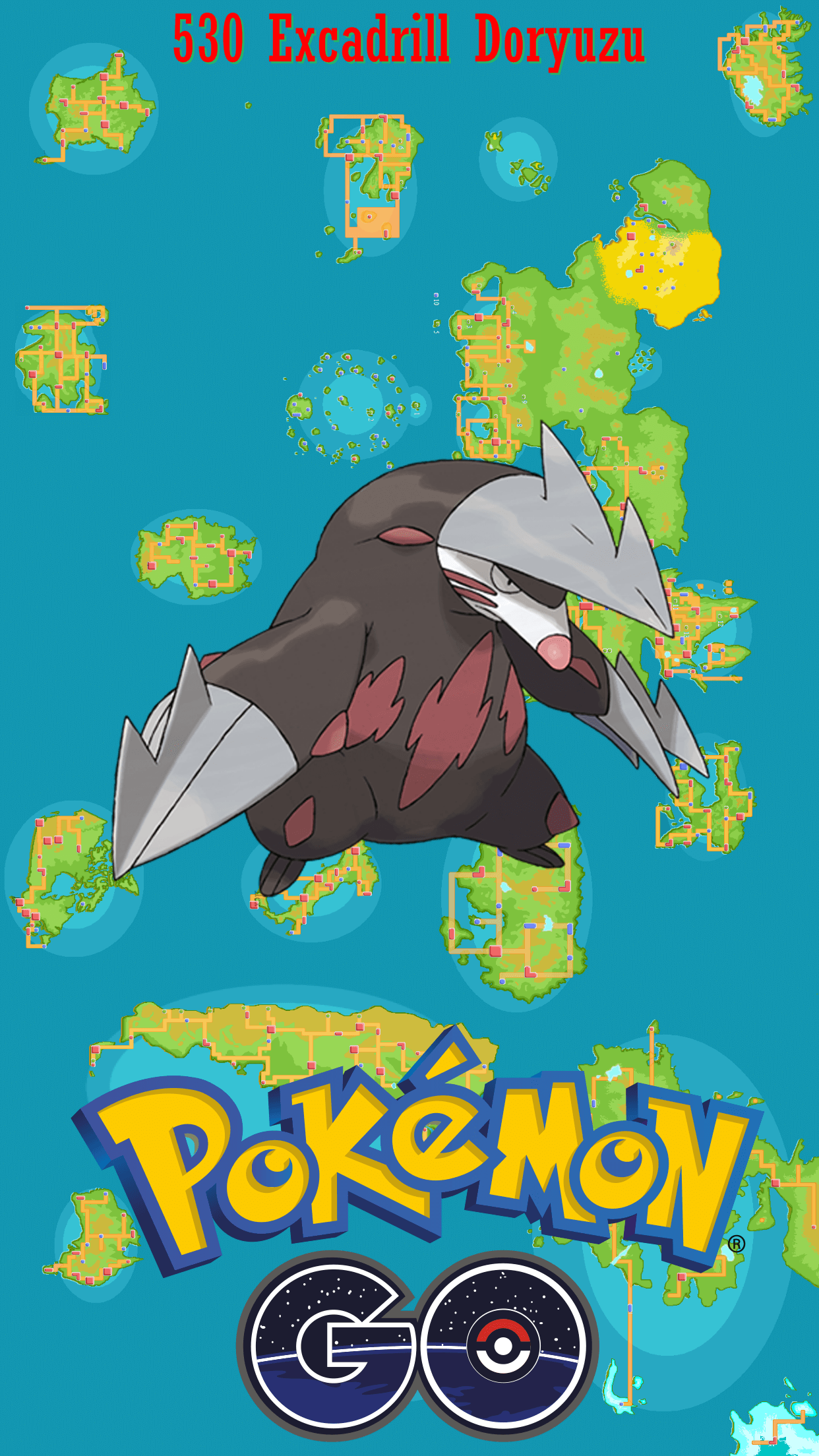 Mobile Excadrill Wallpaper | Full HD Pictures