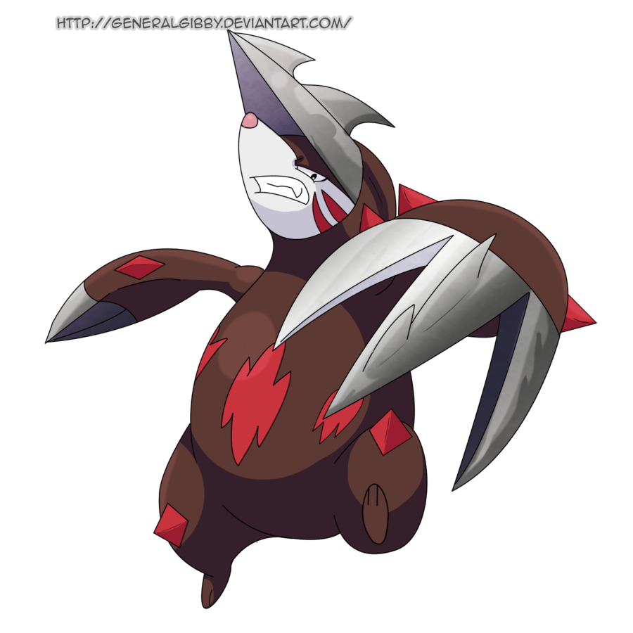 My Favorite Steel Type 2014- Excadrill by GeneralGibby on DeviantArt