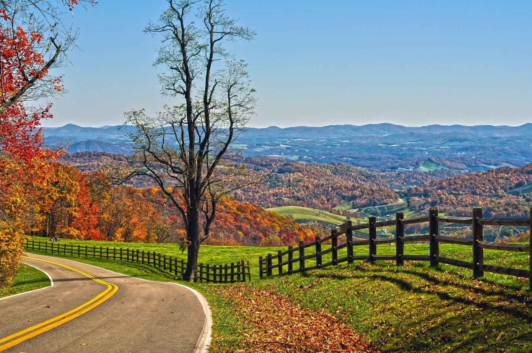 Free Blue Ridge Parkway, Virginia 1080p Wallpapers