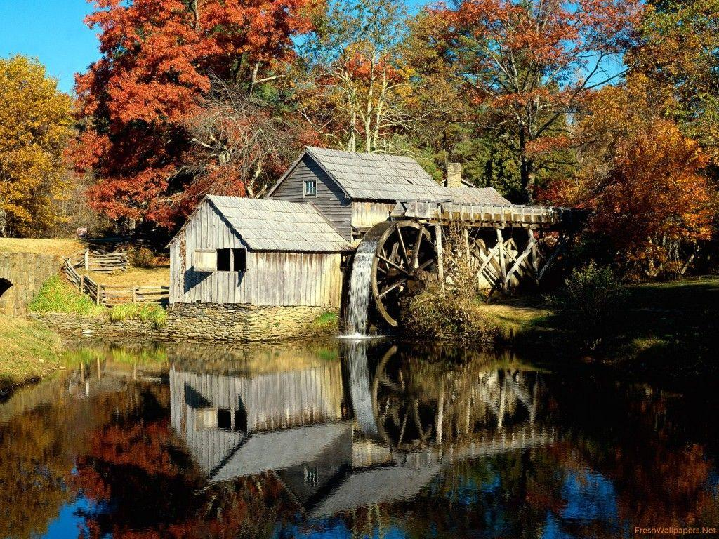 Mabry Mill, Blue Ridge Parkway, Virginia wallpapers