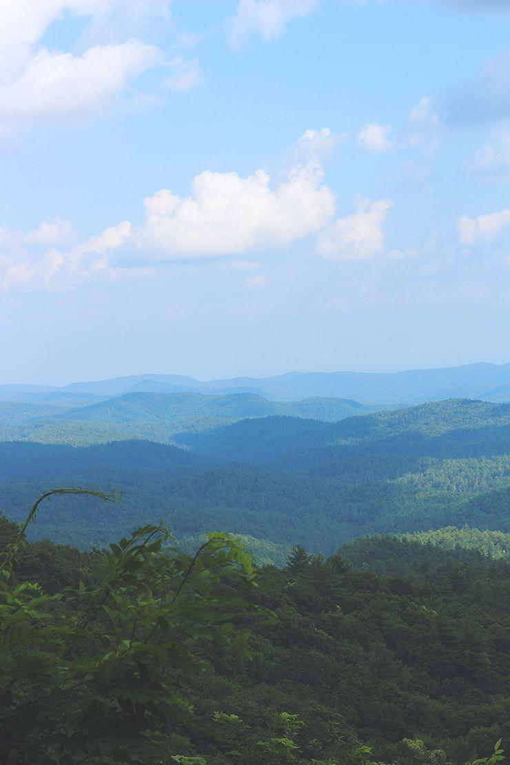 Travel Thursday // Blue Ridge Mountains, Georgia