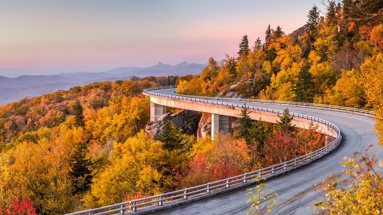 Fall Escapes: Blue Ridge Parkway