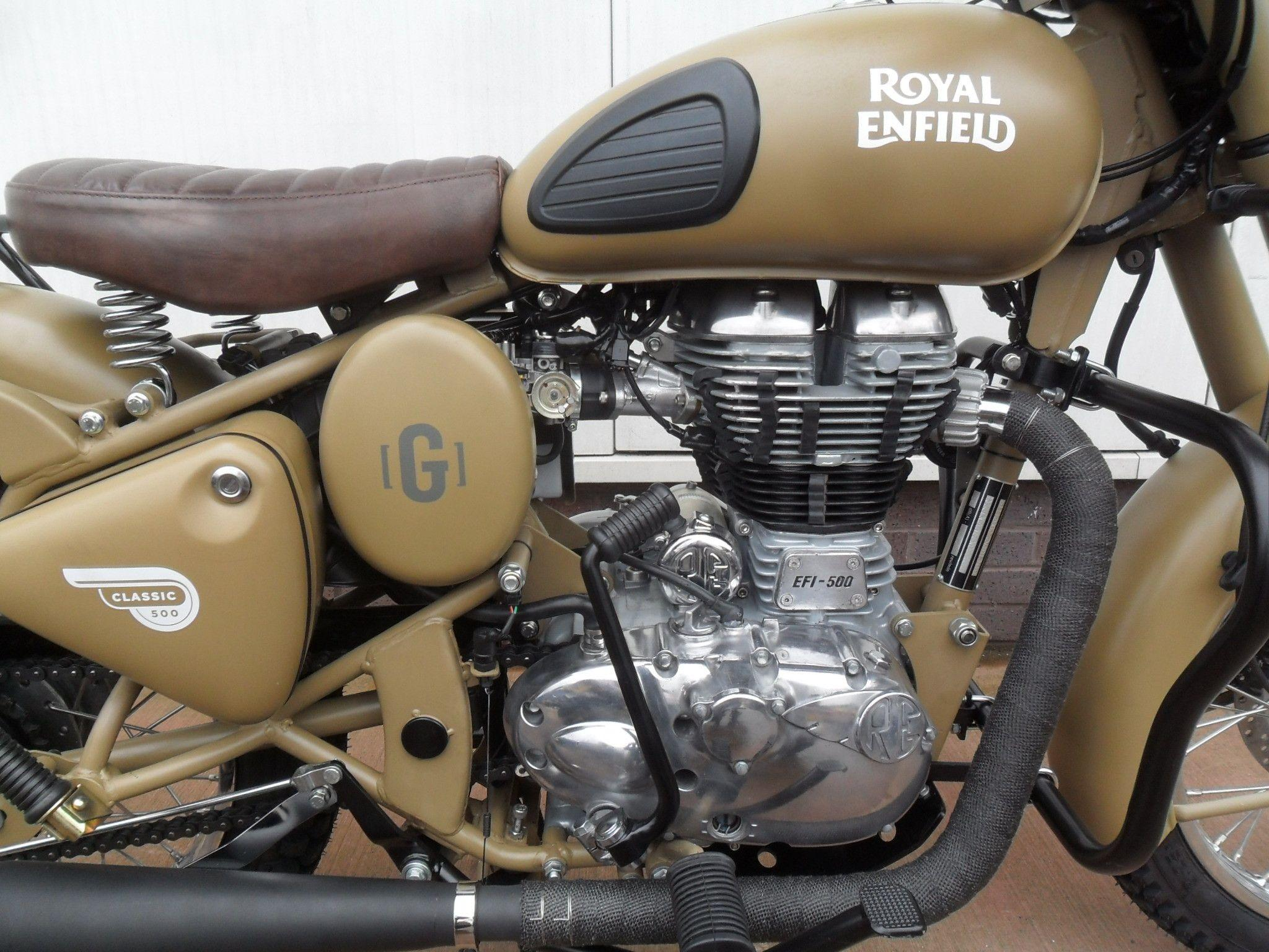 Royal Enfield Classic Desert Storm Wallpapers
