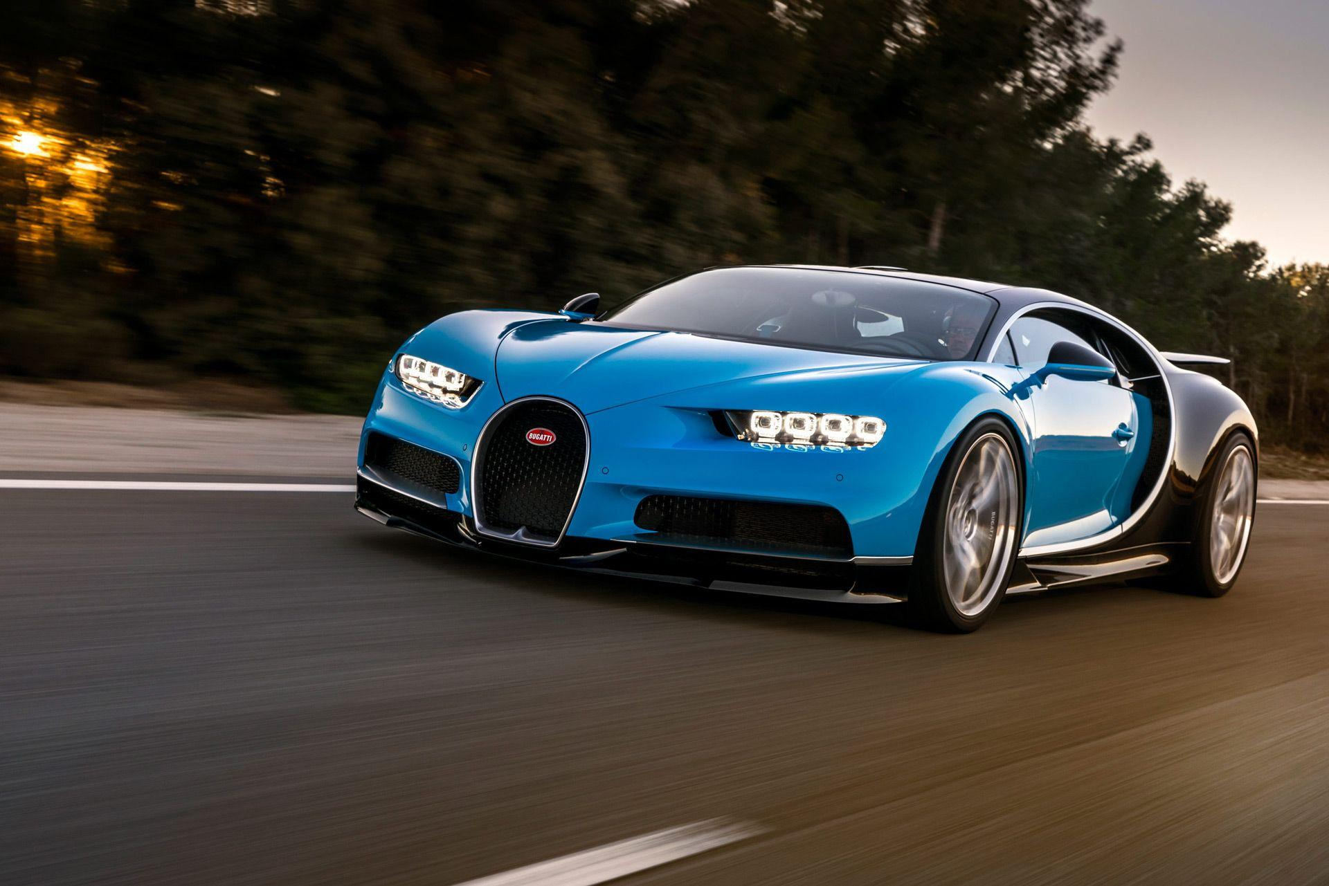 Update: Bugatti Chiron's top speed to remain capped at 261 mph