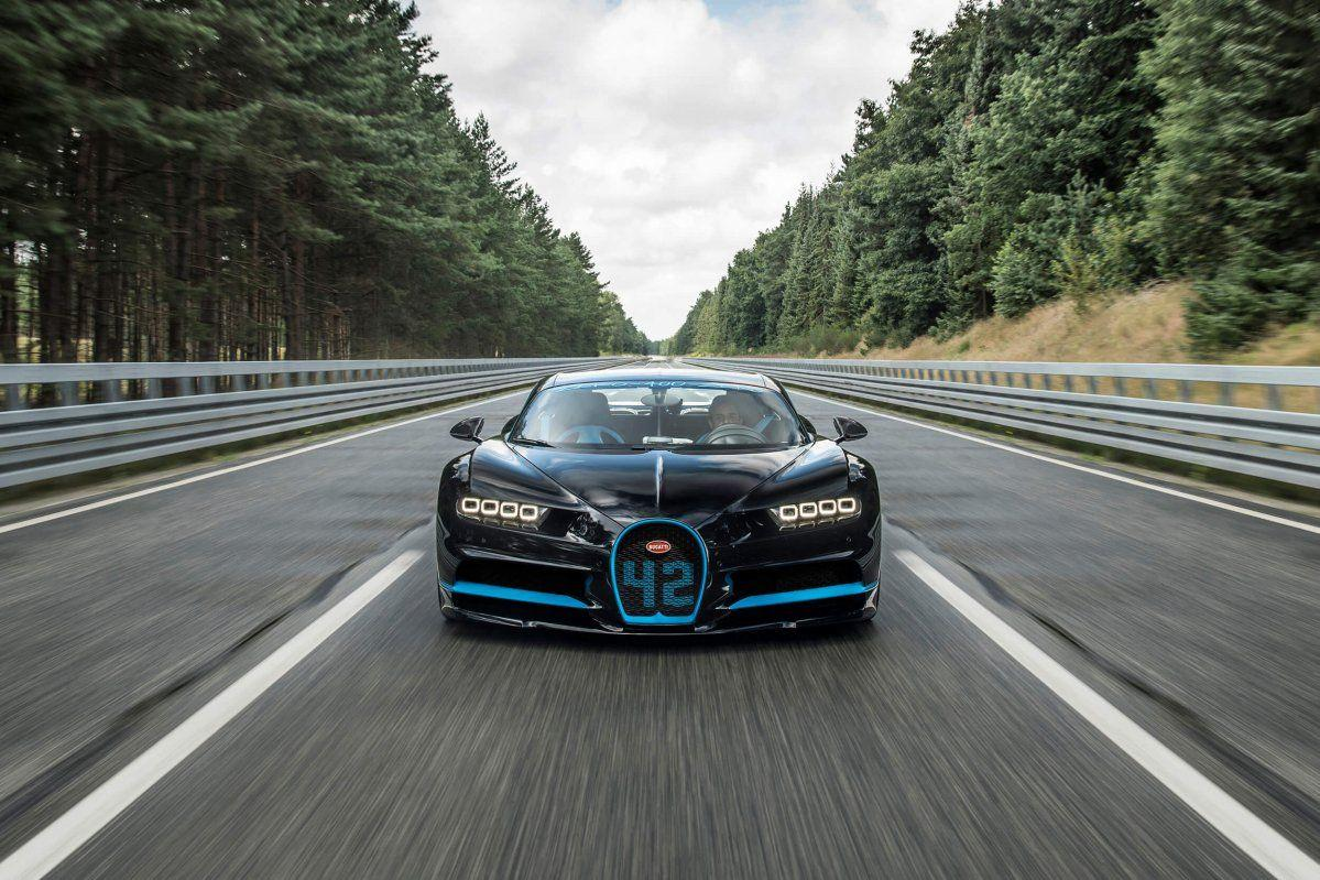 Bugatti Chiron does 0-400 km/h-0 in 41.96 seconds, sets world record
