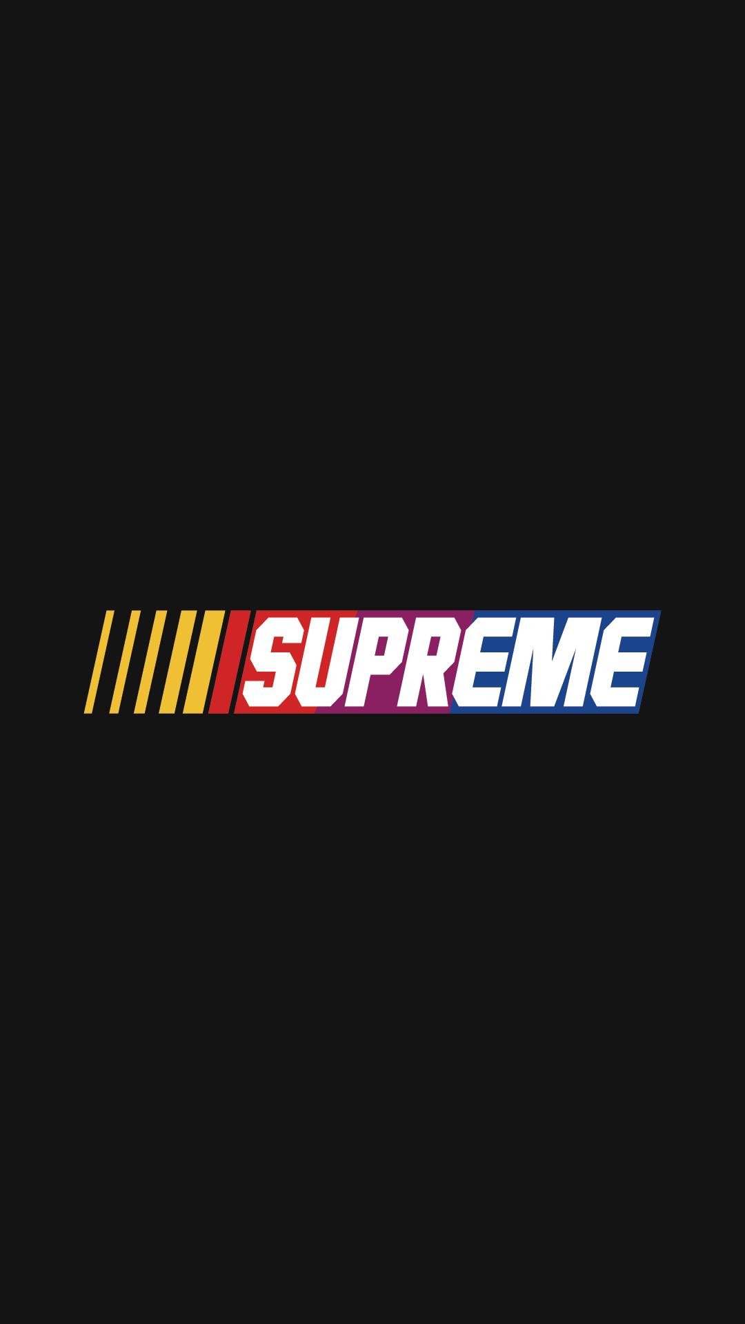 Supreme Logo Wallpapers Wallpaper Cave