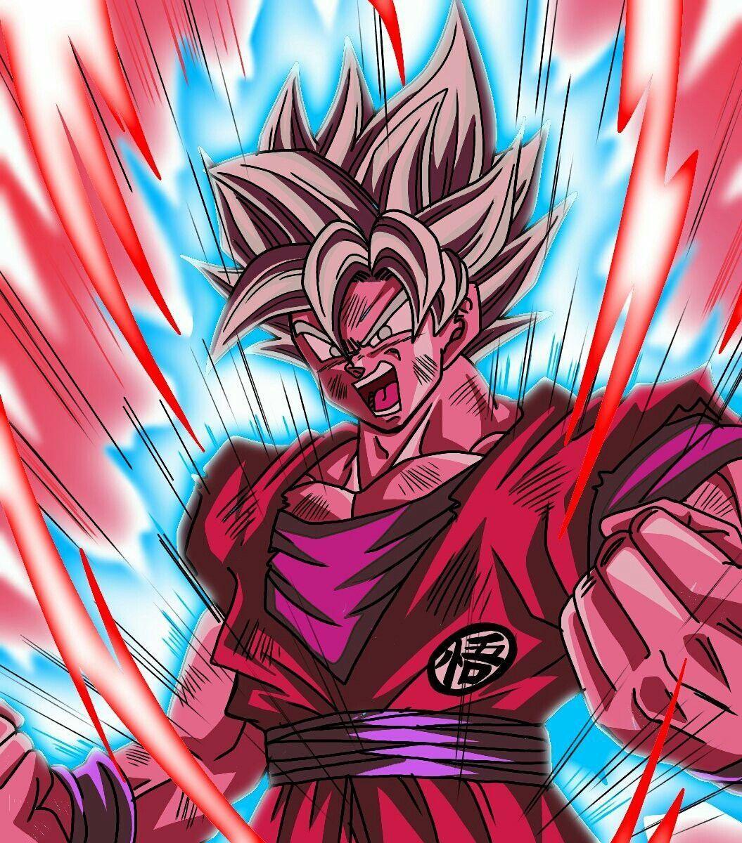 Kaioken Times 100 Goku Super Saiyan Blue Kaioken X20 Wallpaper