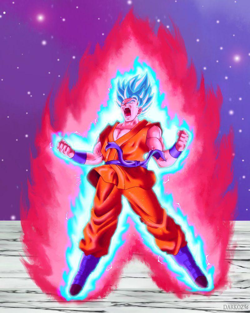 Goku Super Saiyan Blue Kaikan X100 Wallpapers Wallpaper Cave