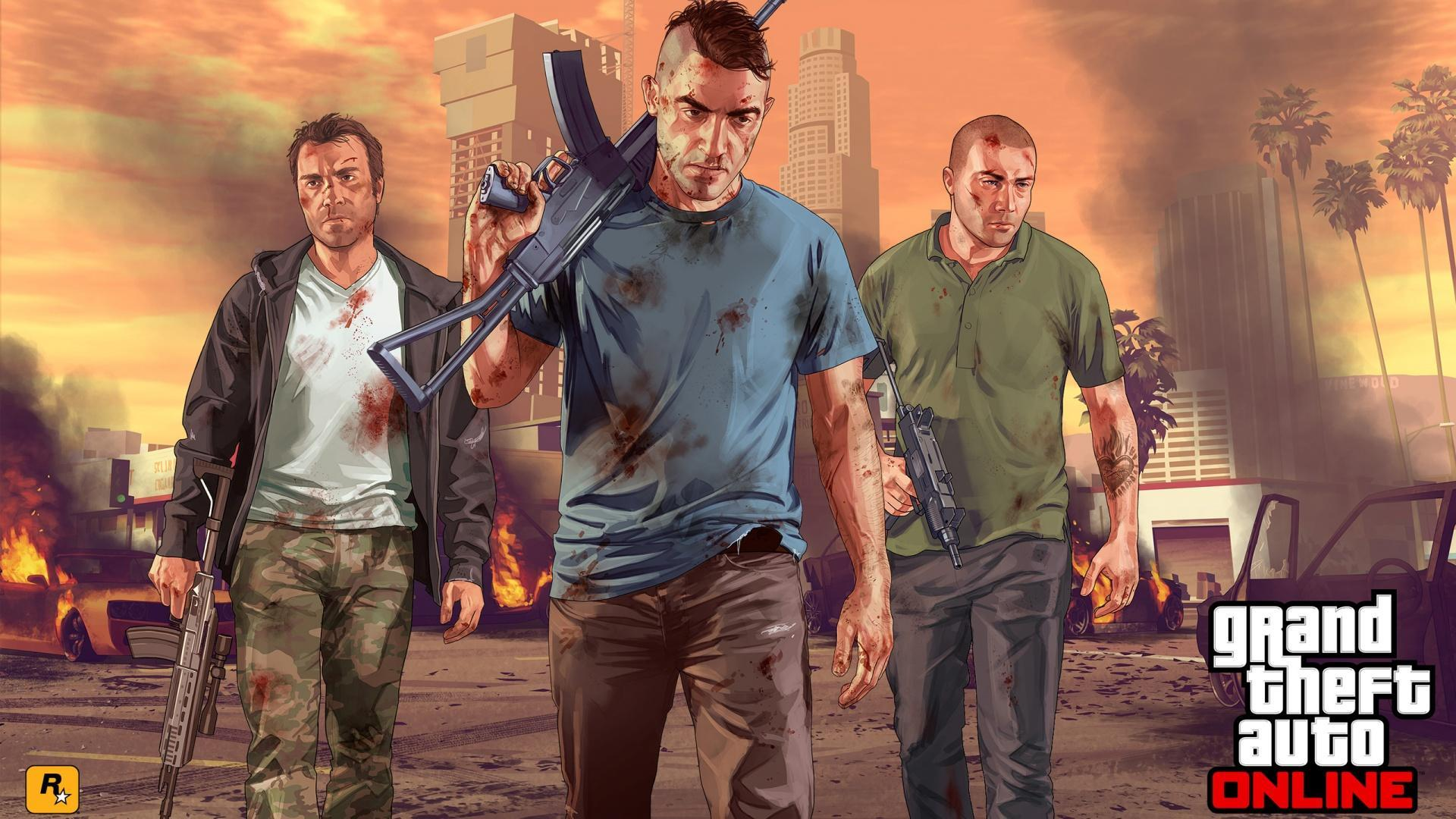 Grand Theft Auto Five Wallpapers Wallpaper Cave