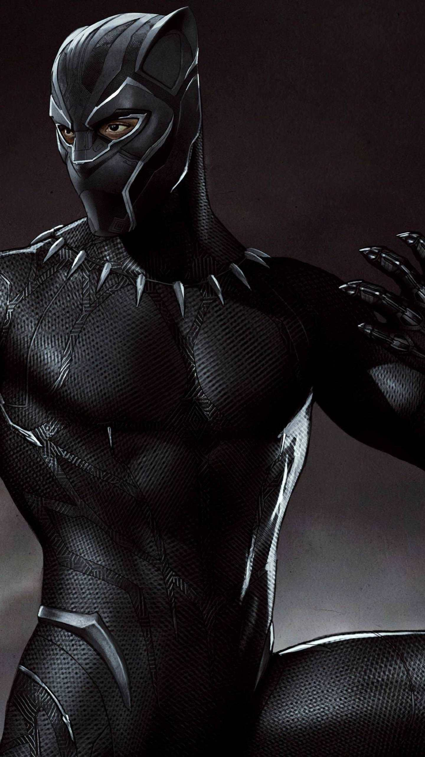 Black Panther Marvel Mobile Wallpapers Wallpaper Cave