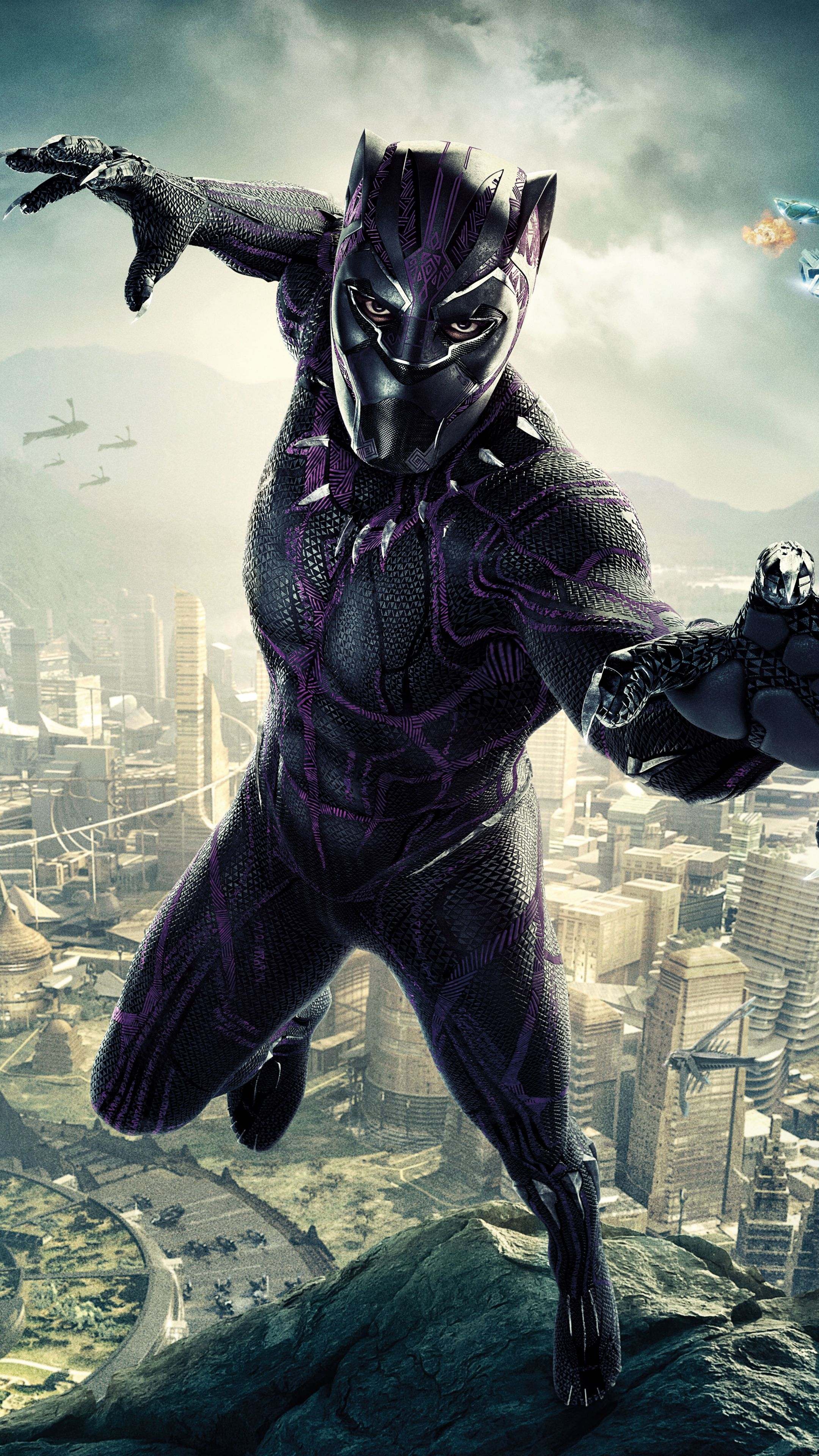 Black Panther Marvel Mobile Wallpapers - Wallpaper Cave