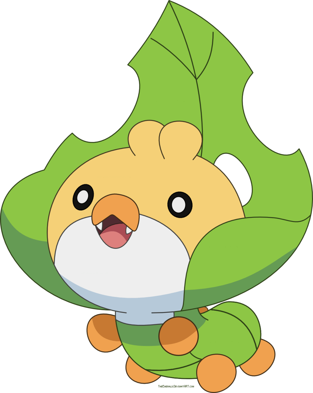 Free Sewaddle Pokemon vector by Emerald-Stock on DeviantArt