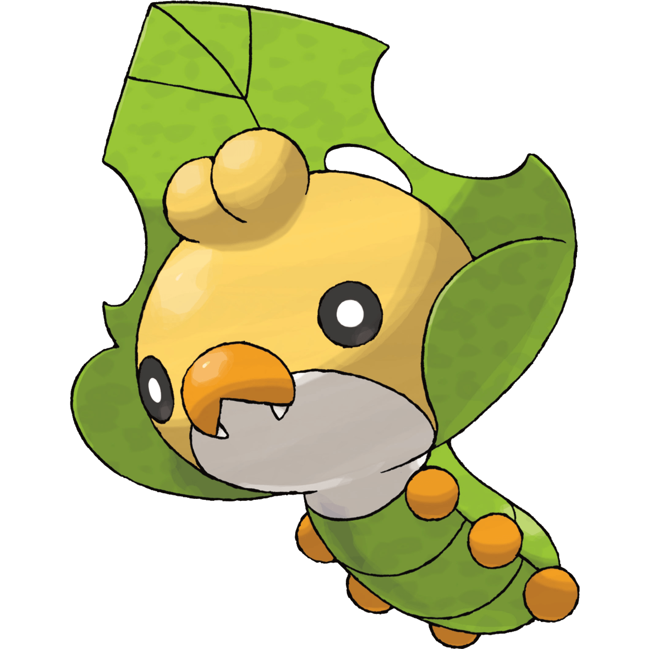 Sewaddle | Grass | #540 out of #719 | Unova | Sewing Pokemon ...