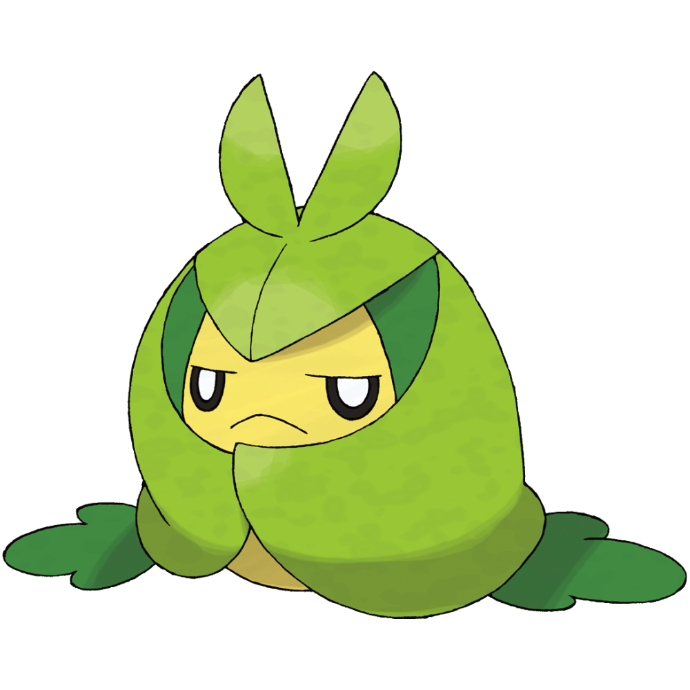 Swadloon | Grass | #541 out of #719 | Unova | Leaf-Wrapped Pokemon ...