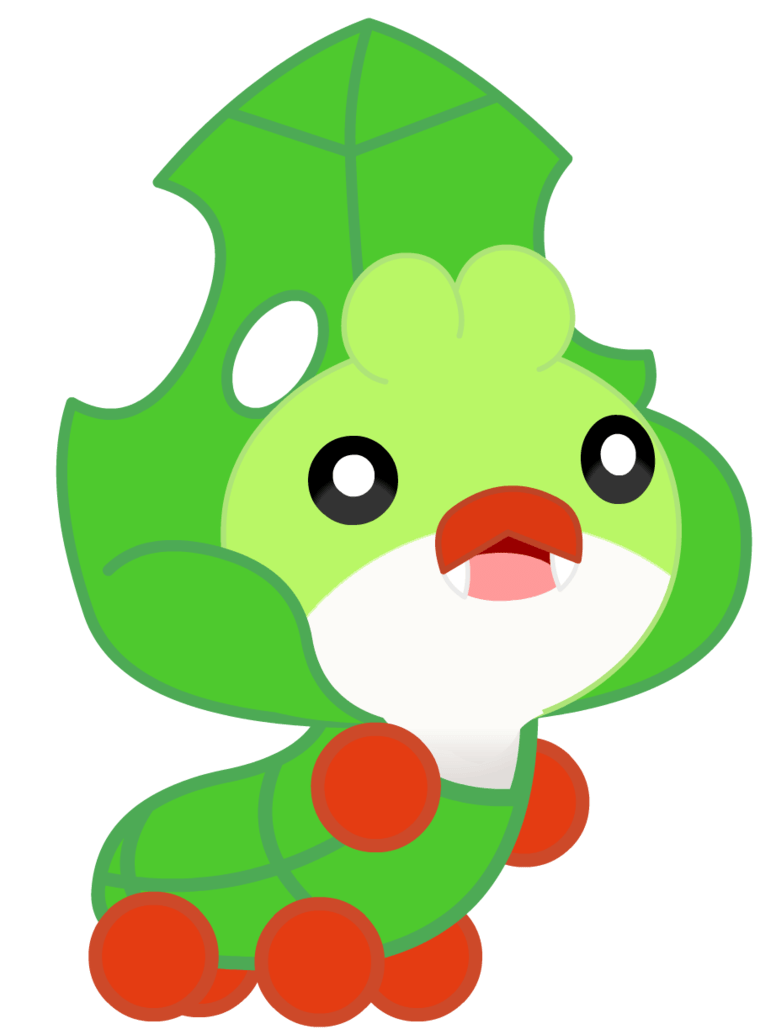 Shiny Sewaddle by Jackson93 on DeviantArt