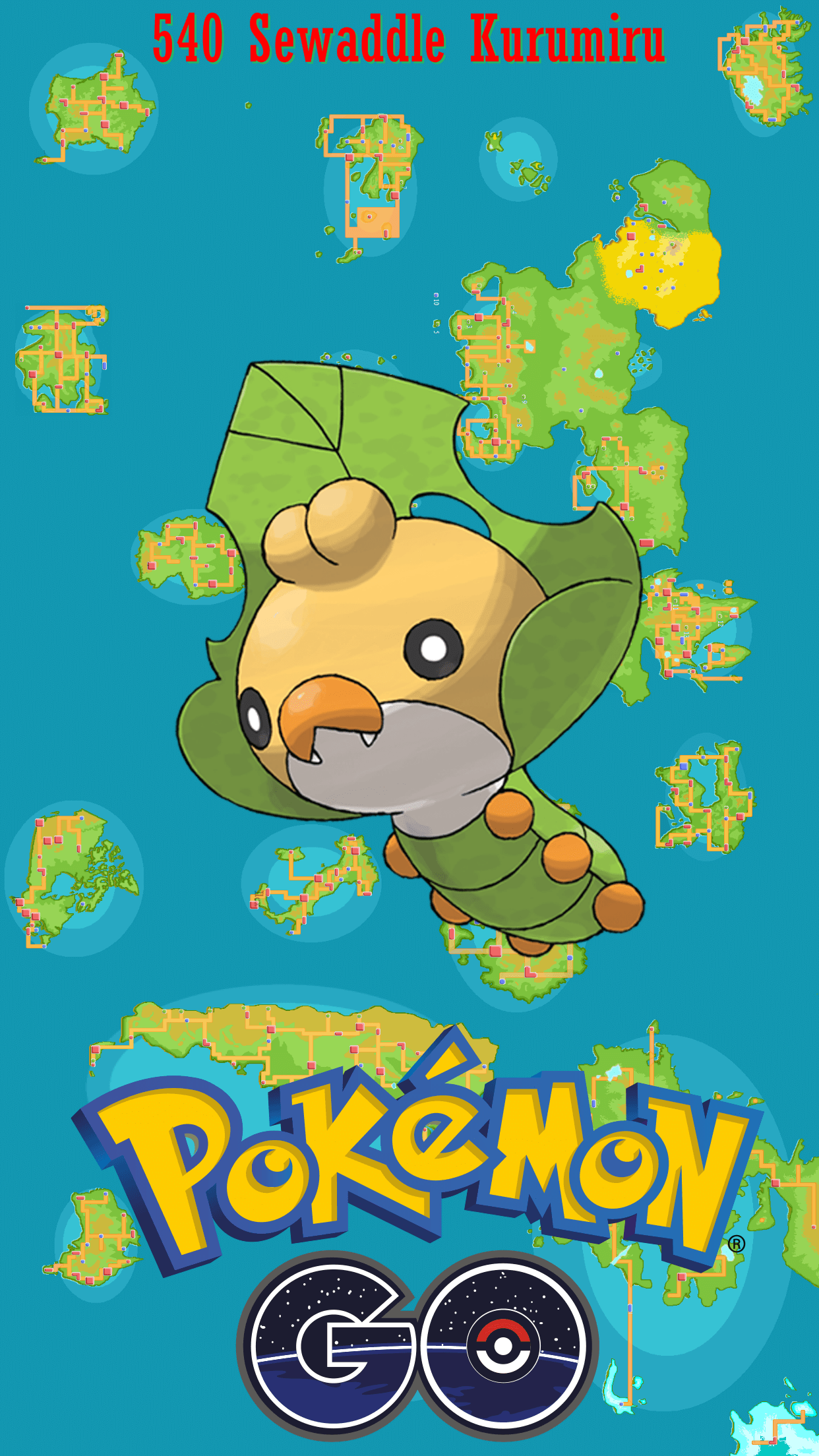 540 Street Map Sewaddle Kurumiru | Wallpaper