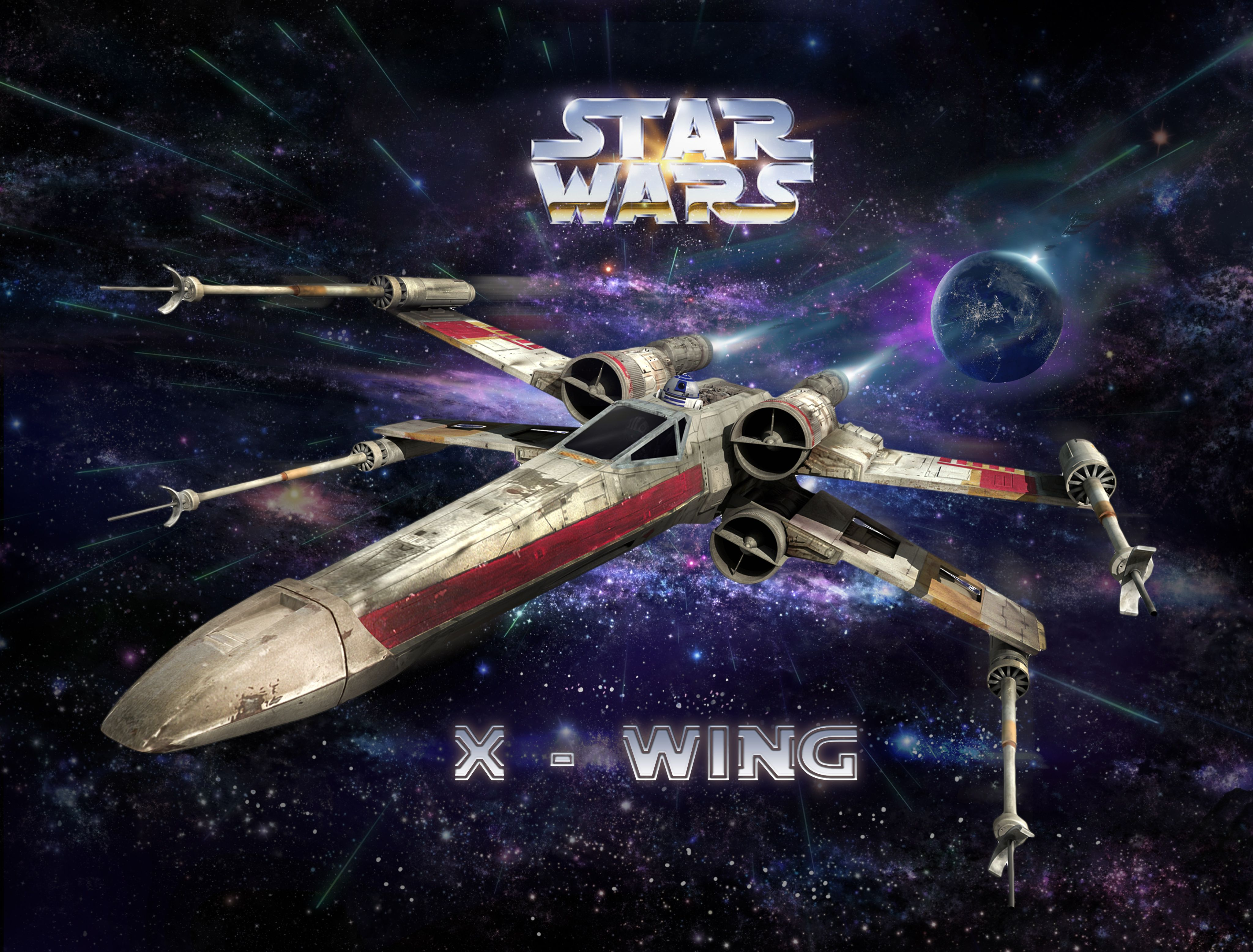 Star Wars X Wing 4K Wallpapers