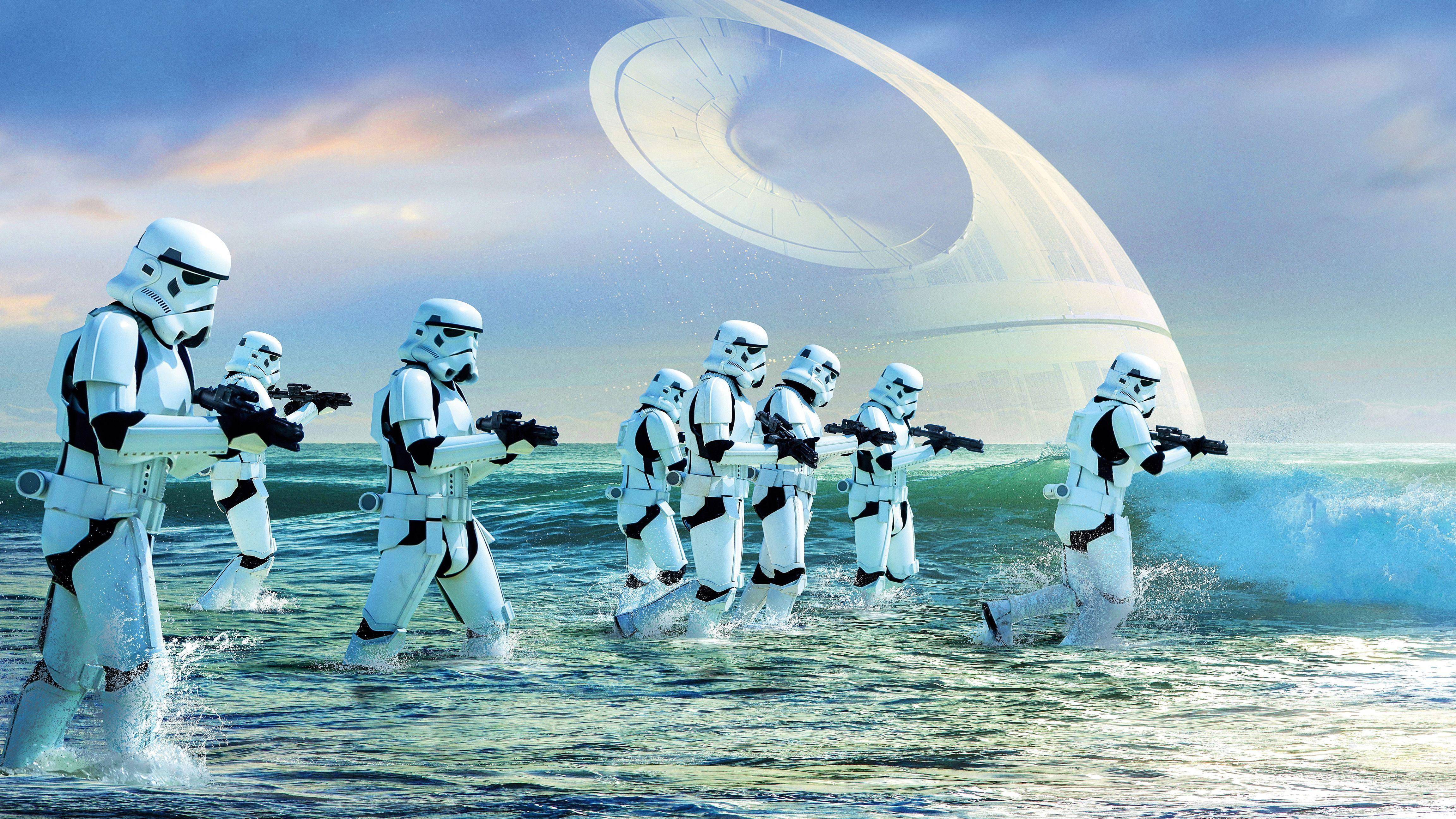 Wallpapers Stormtroopers, Rogue One: A Star Wars Story, 4K, Movies,