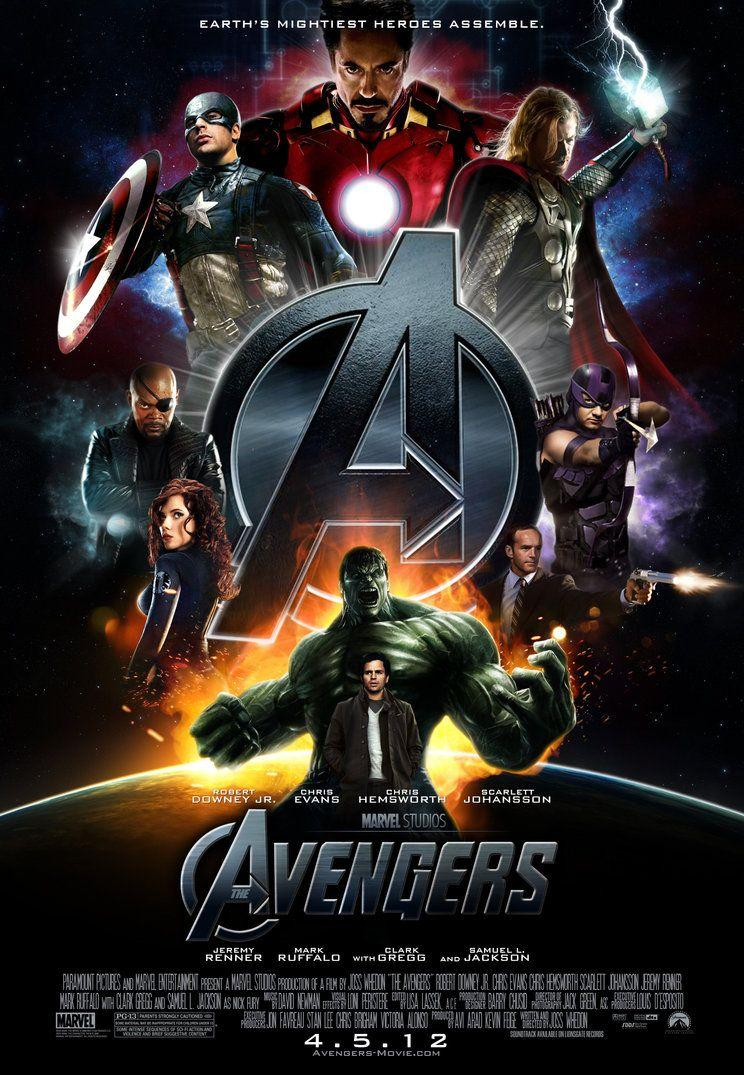 The Avengers' Movie Poster by themadbutcher