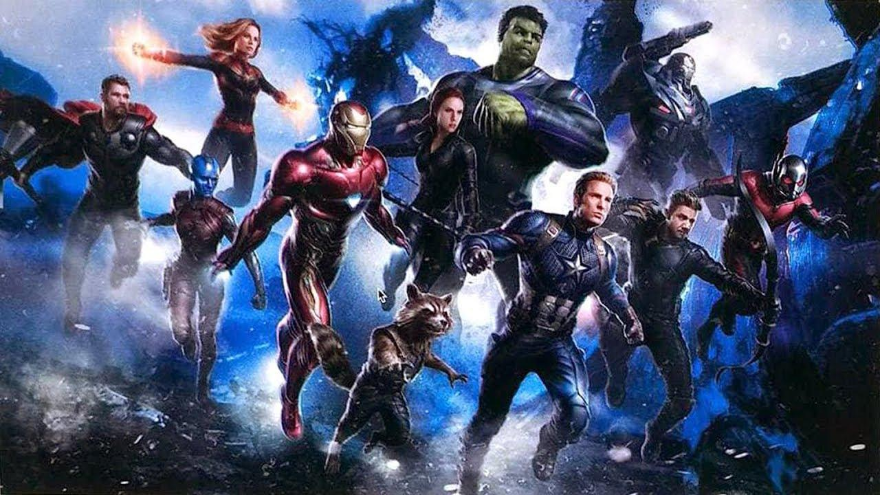 Leaked Avengers 4 Concept Art Reveals New Team