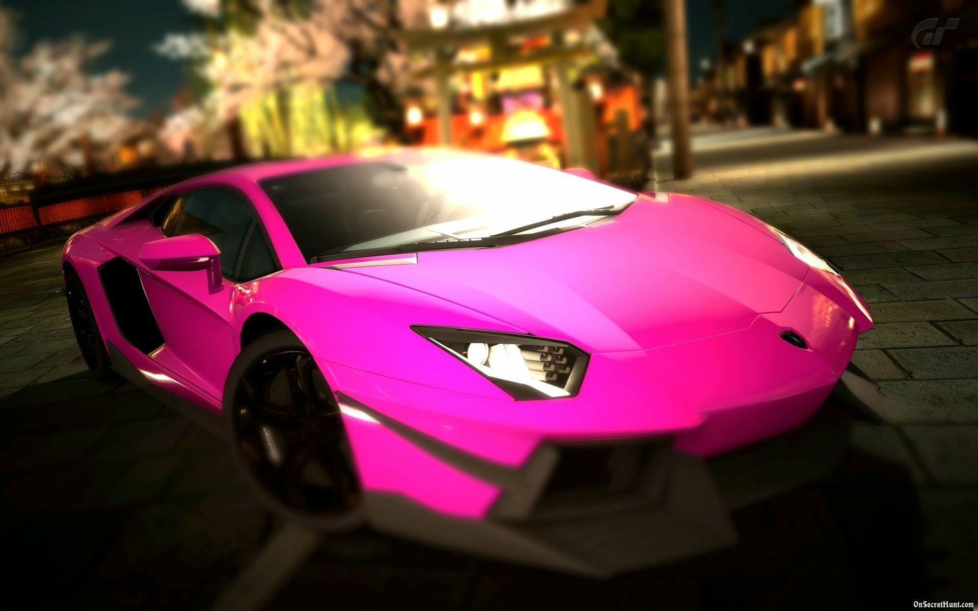 Pink Lamborghini Wallpapers Wallpaper Cave