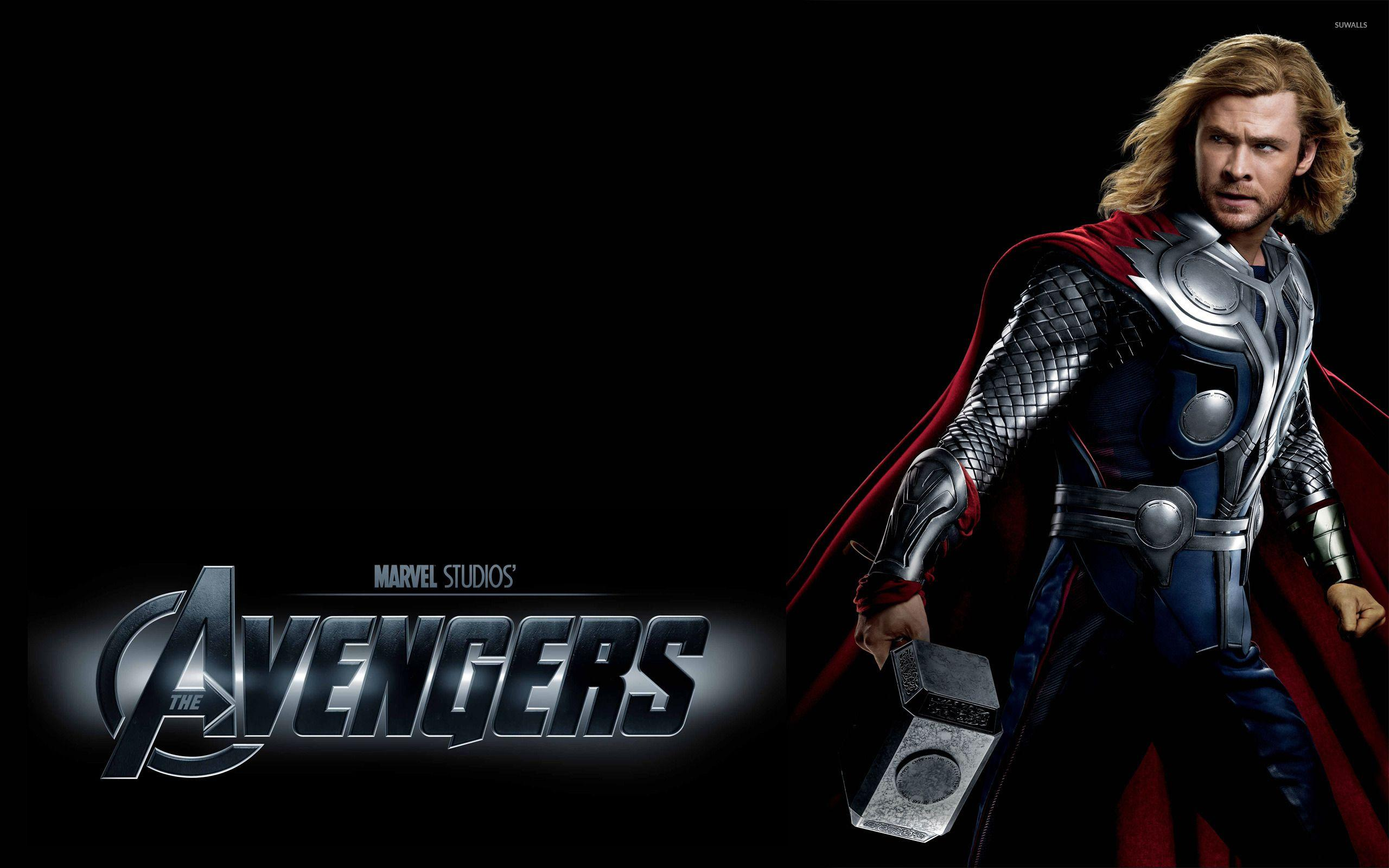 Movies Thor in The Avengers wallpapers
