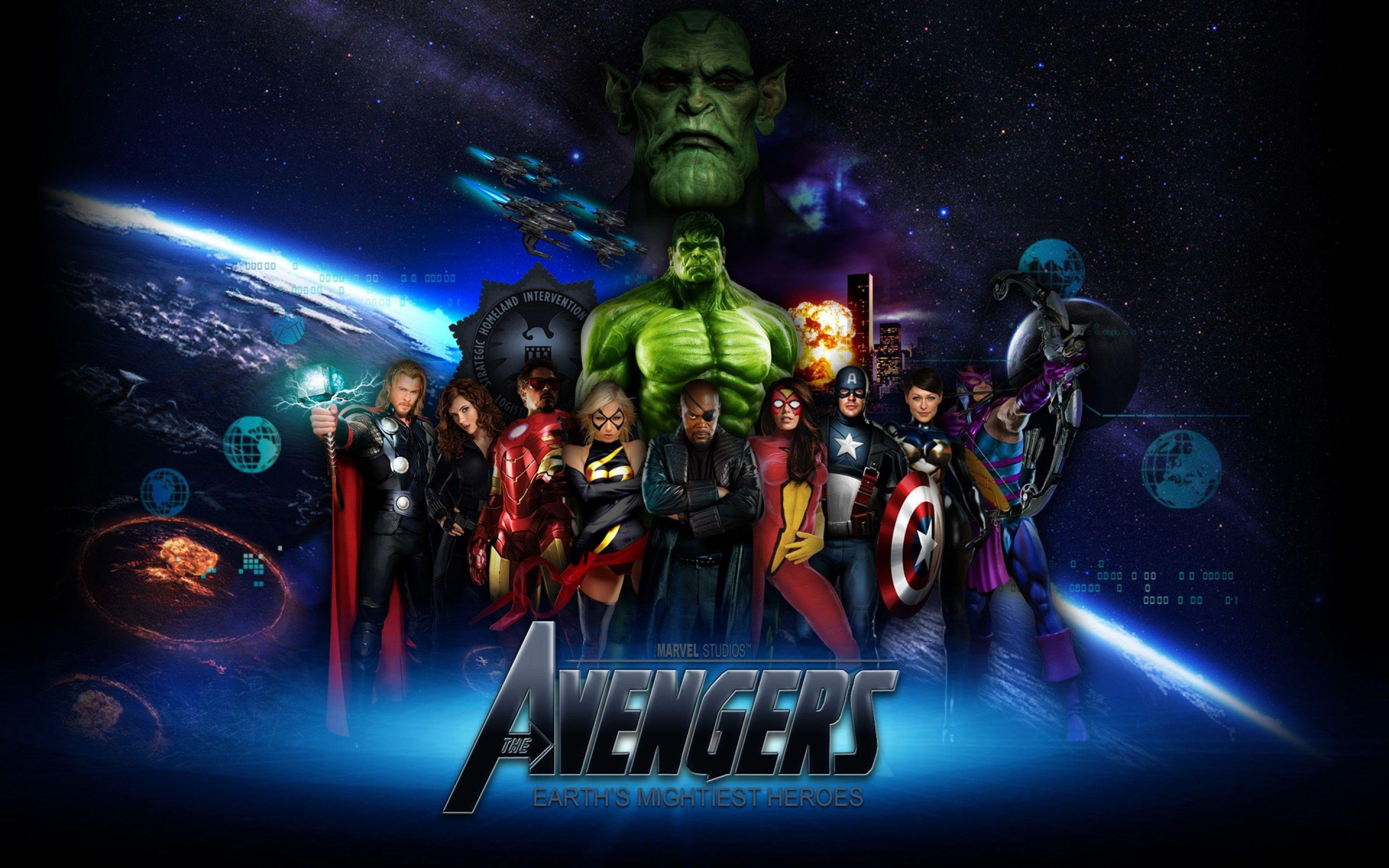 Free Avengers Backgrounds