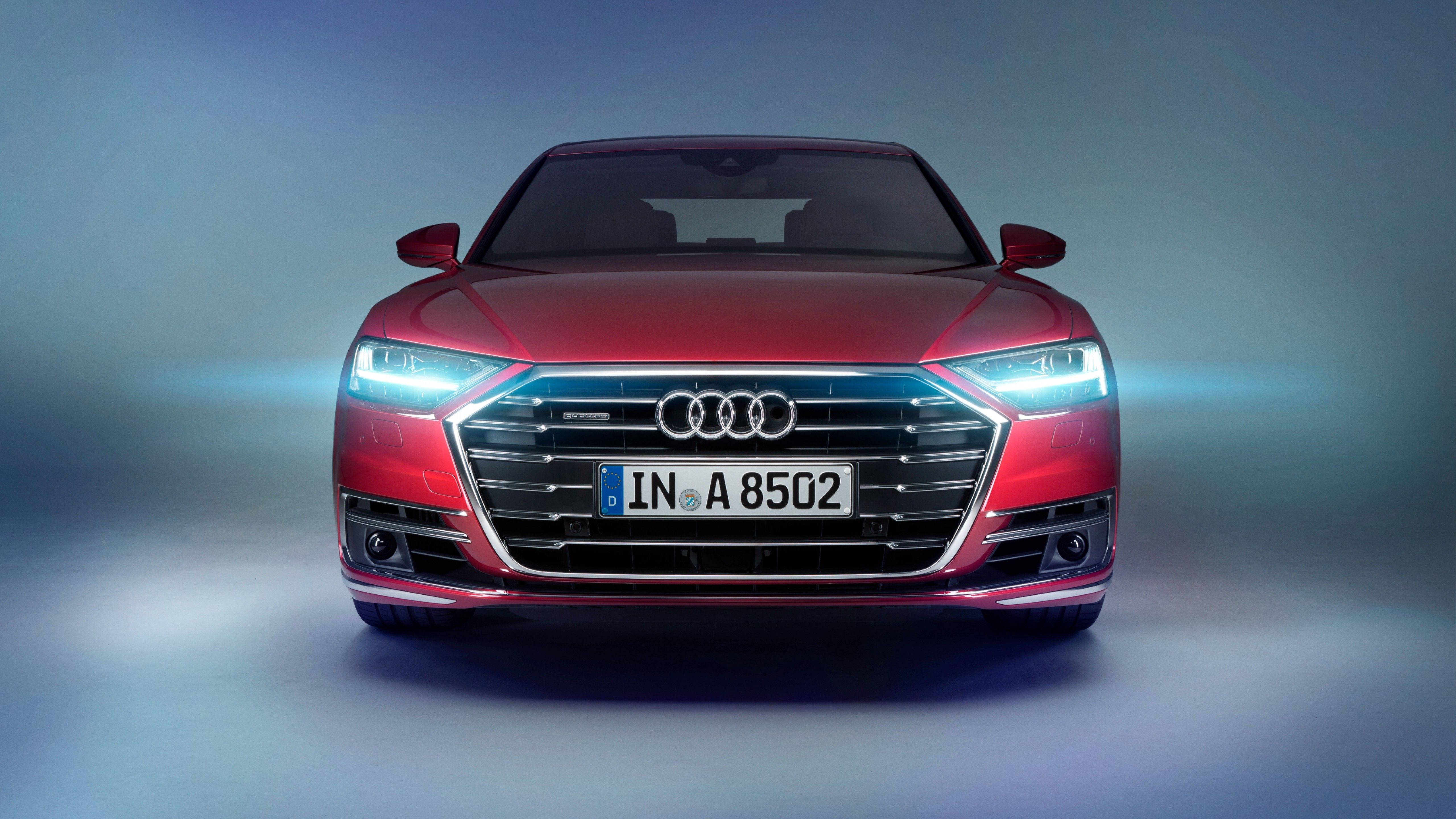 Cars 2018 Audi A8 4K wallpapers