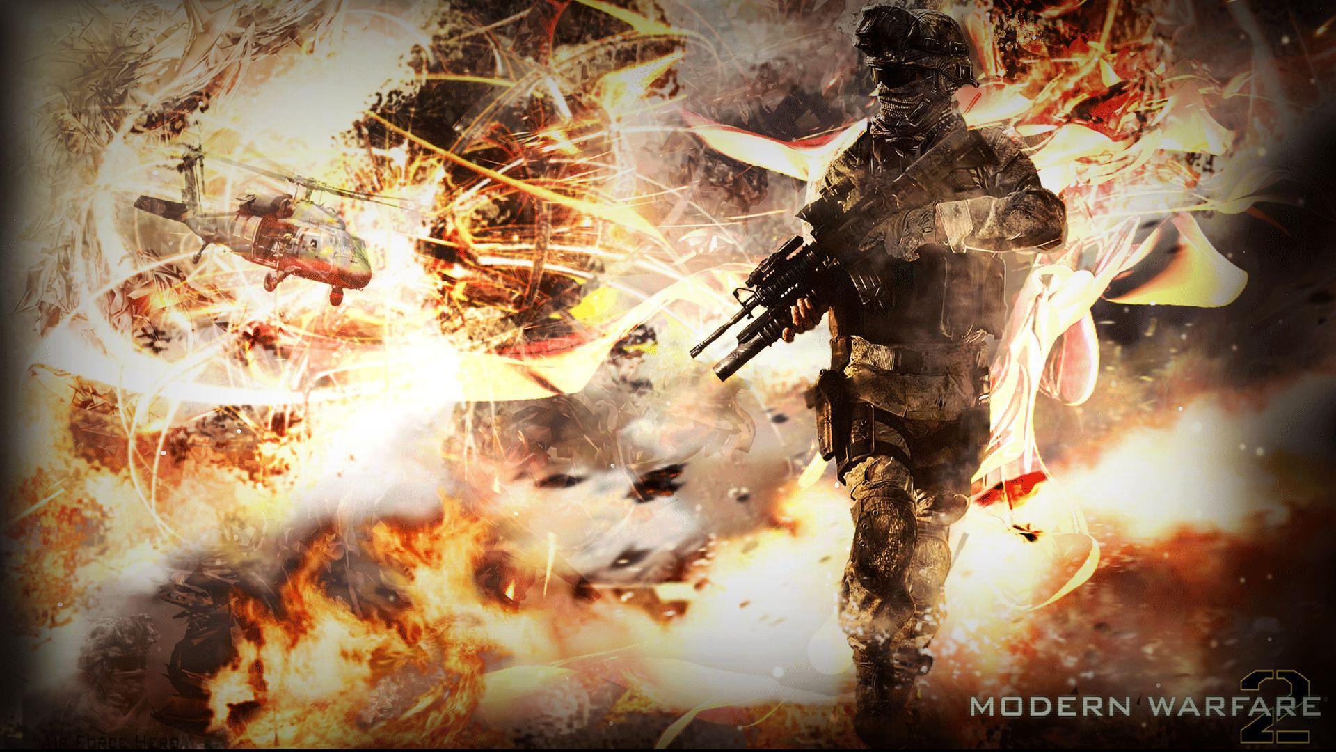 Free Download Call Of Duty Modern Warfare 2 Hd Wallpaper