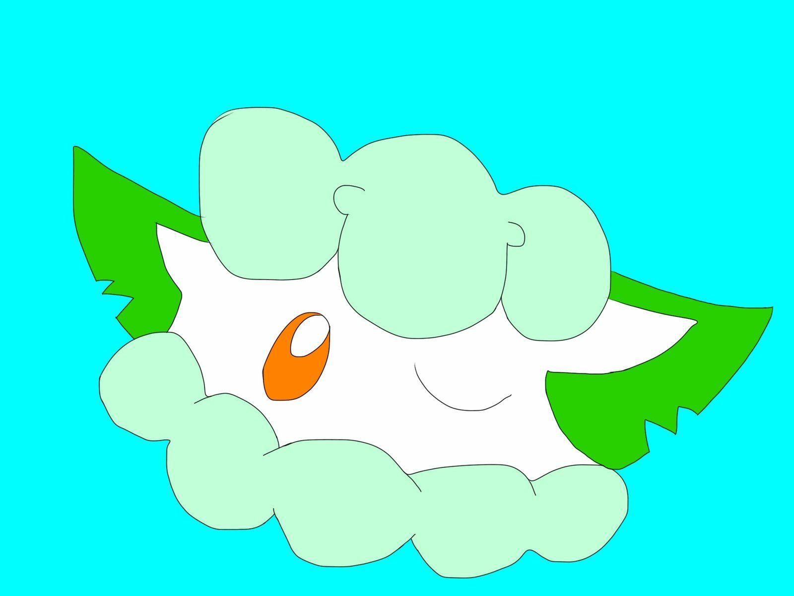 Cottonee wink by Xlydrs
