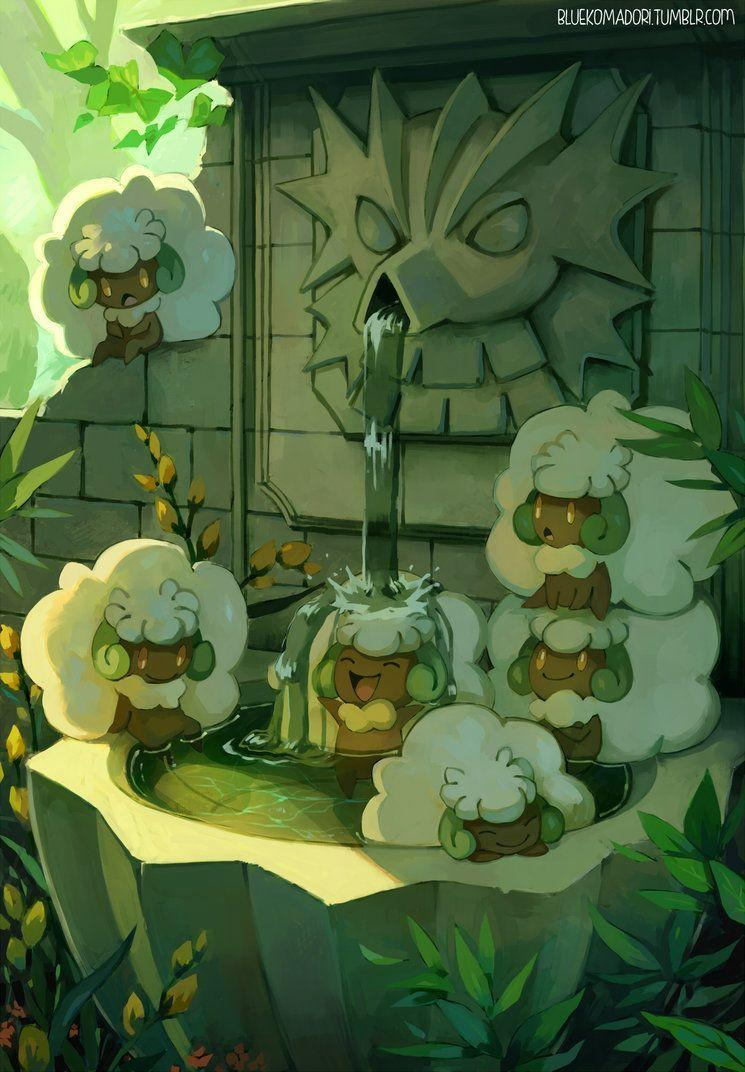 Whimsicott by bluekomadori.deviantart on @DeviantArt