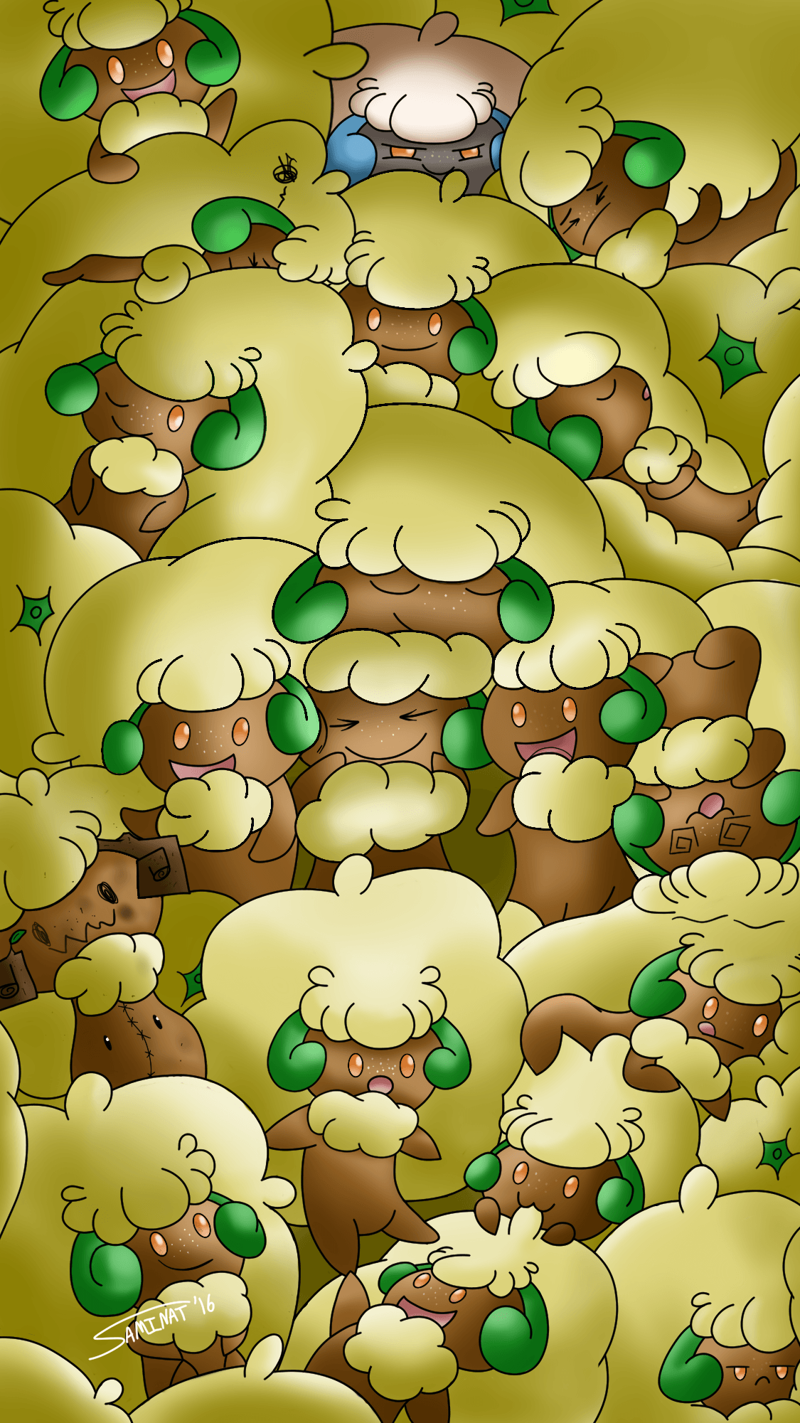 A Whimsy of Whimsicott by Saminat on Newgrounds