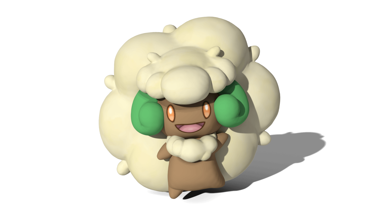 A fluffy Whimsicott! by TheAdorableOshawott