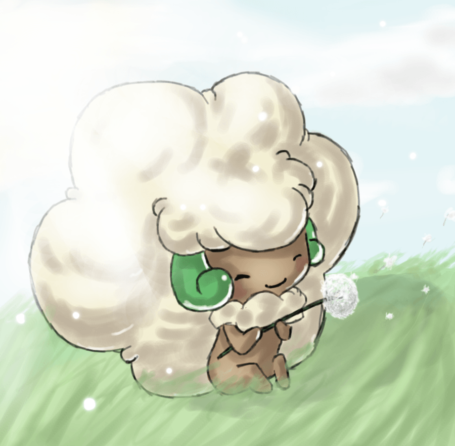 Whimsicott — am I the only one who catches this thing? If it's male ...