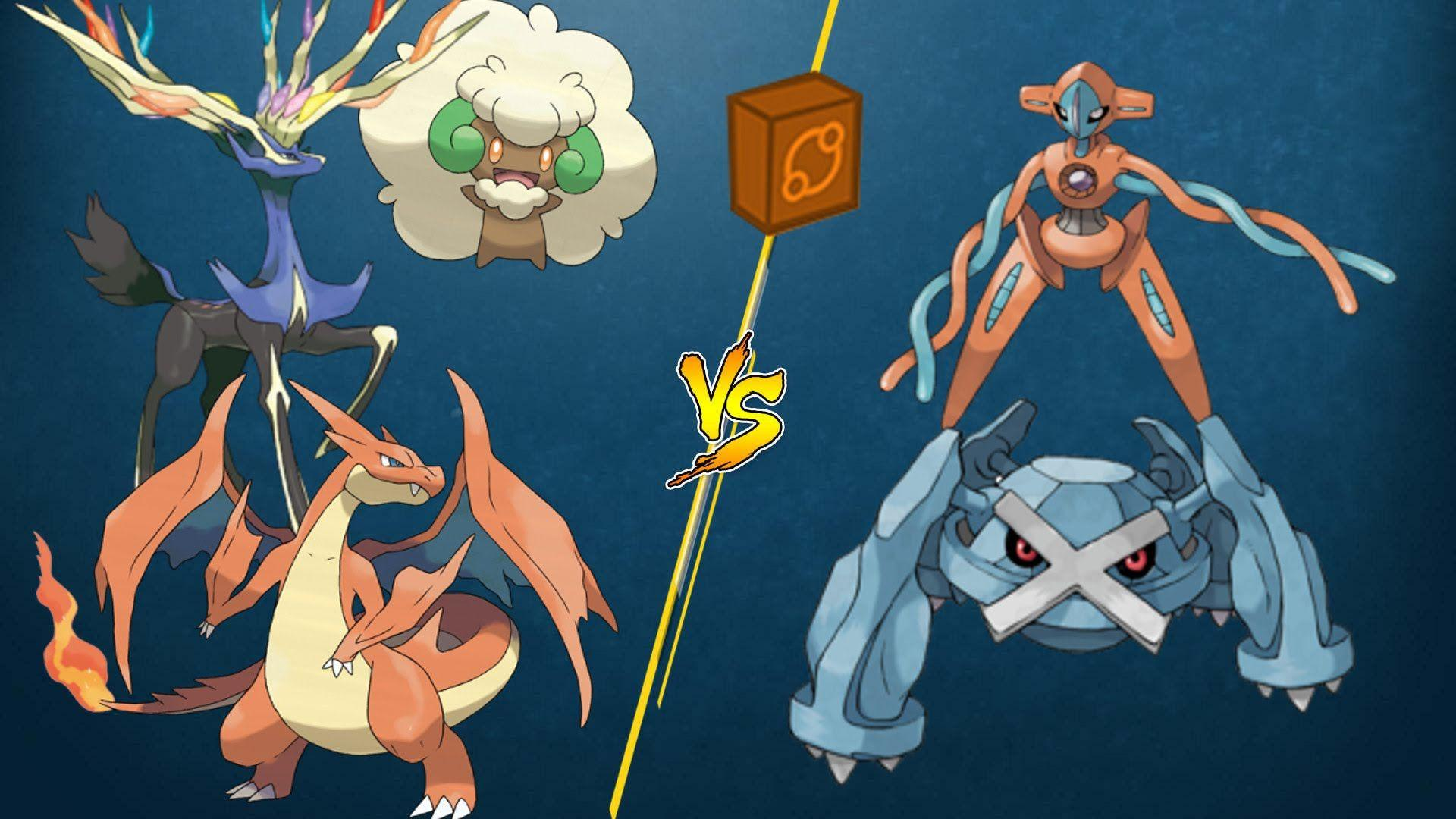 PTCGO Stream Match] M Charizard/Xerneas/Whimsicott vs Metagross