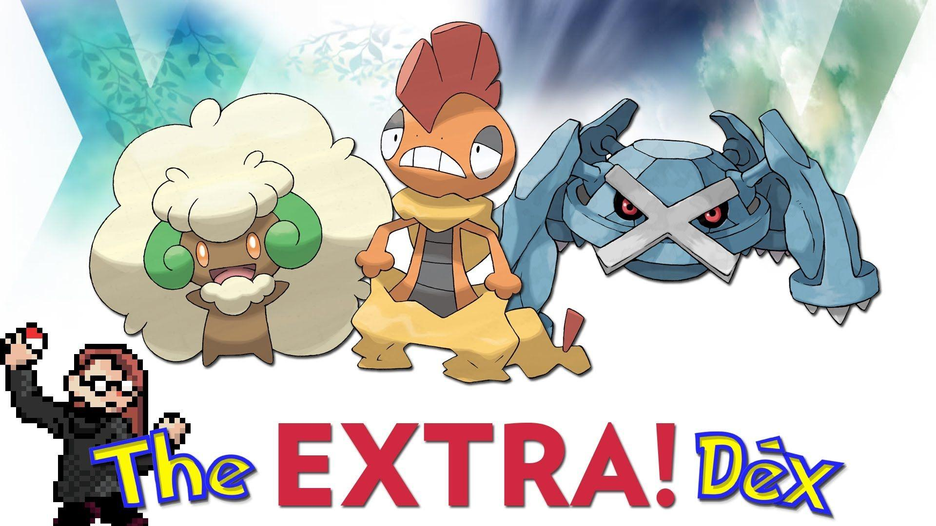 Whimsicott, Scrafty, Metagross! The ExtraDex