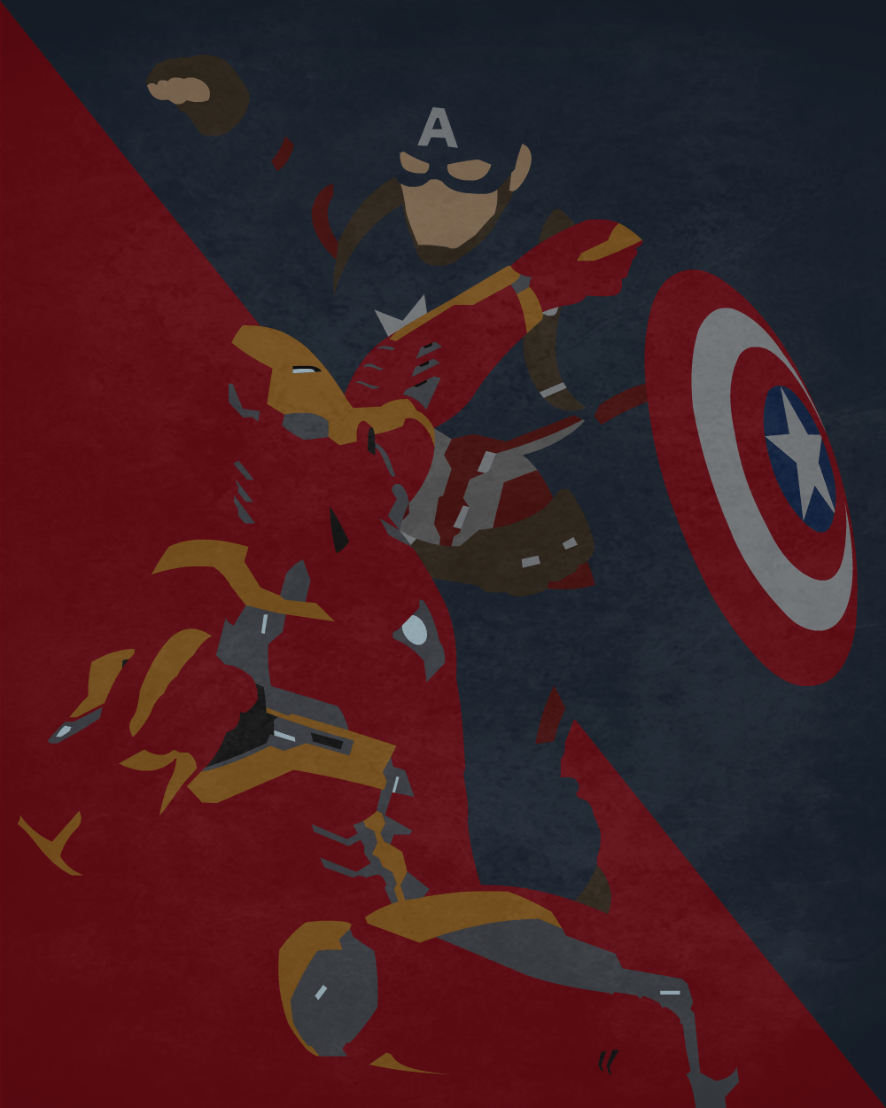 Captain America Vs Iron Man Wallpapers Wallpaper Cave