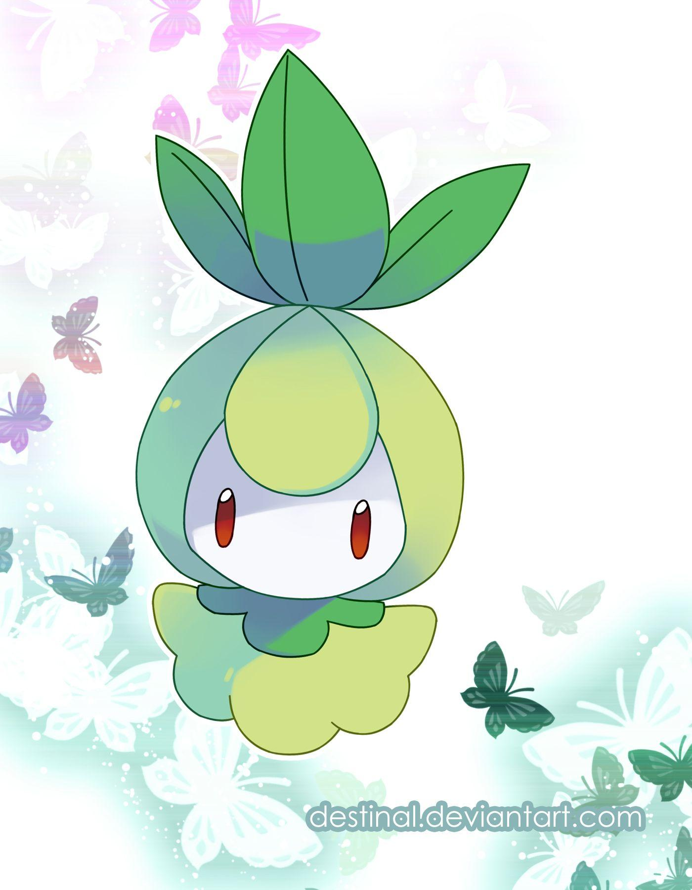 Petilil Art on Lilligant