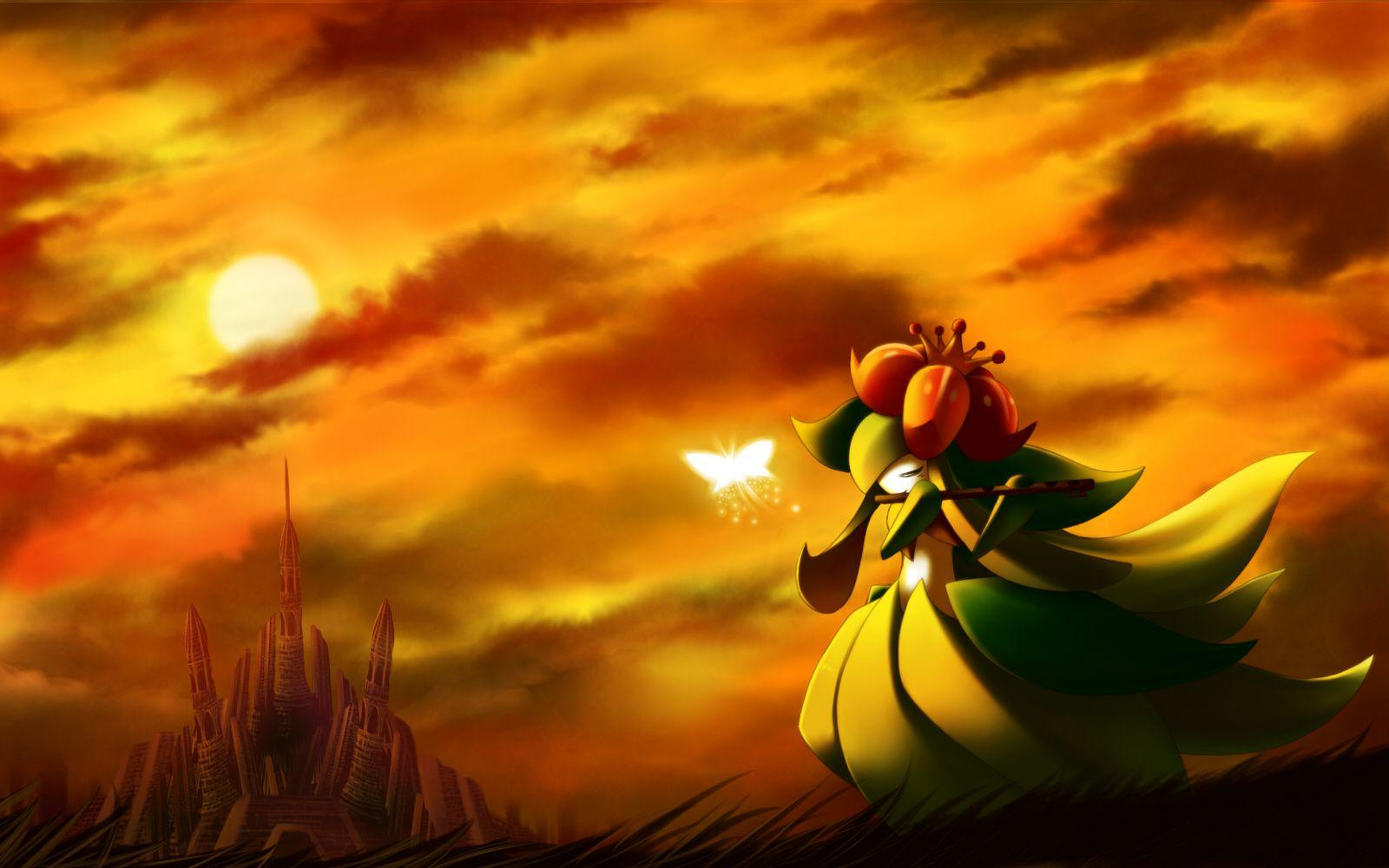 1 Lilligant (Pokémon) HD Wallpapers | Background Images - Wallpaper ...