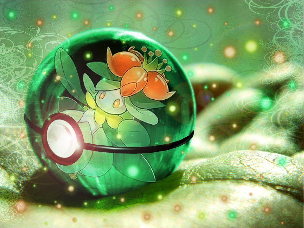 Lilligant pokeball by Blazestar39503