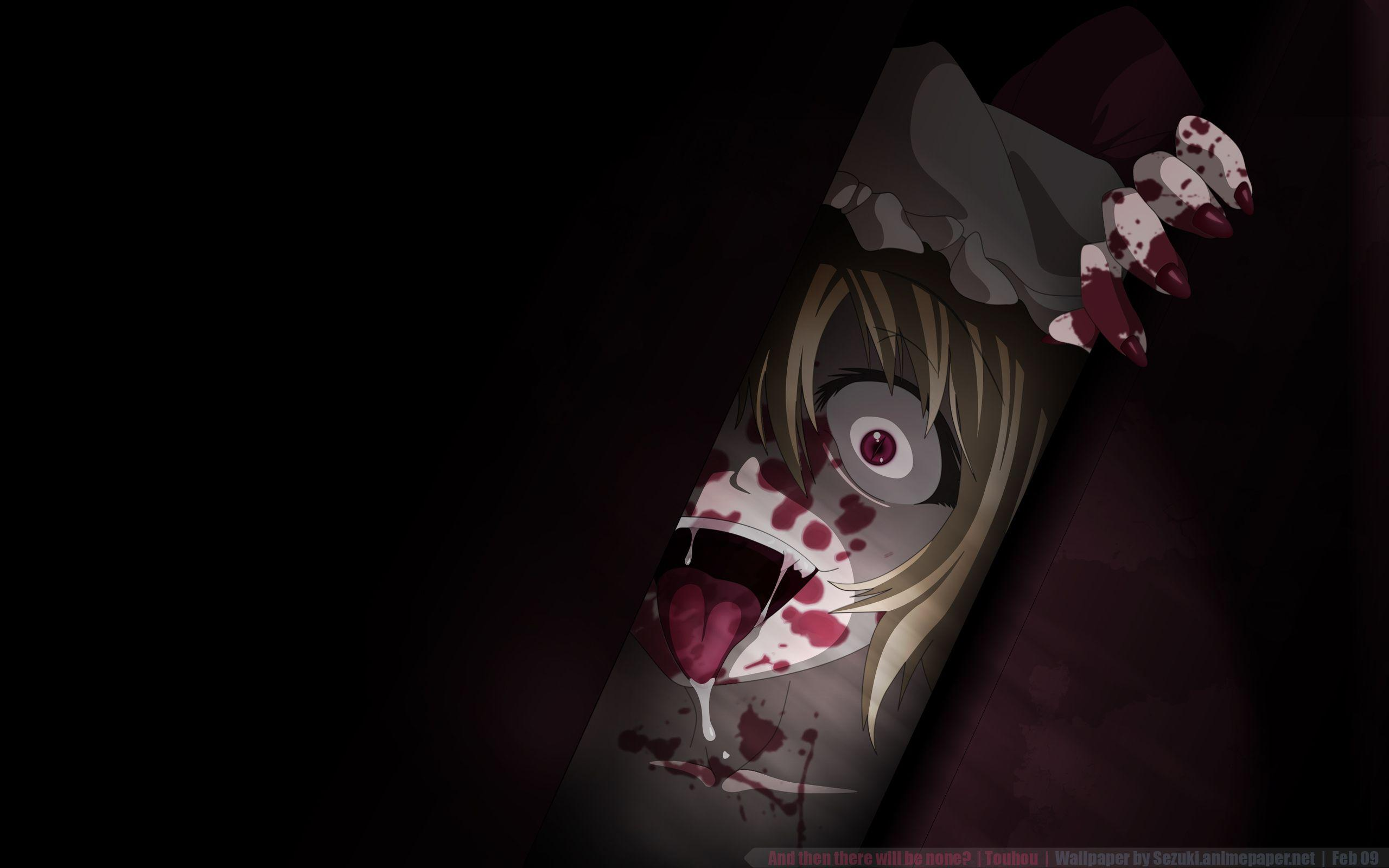 Horror Anime Wallpapers Wallpaper Cave