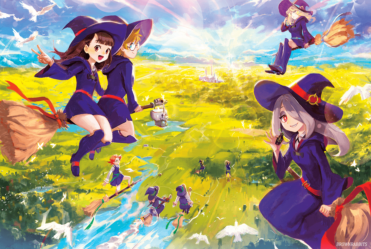 Little Witch Academia Wallpapers Wallpaper Cave