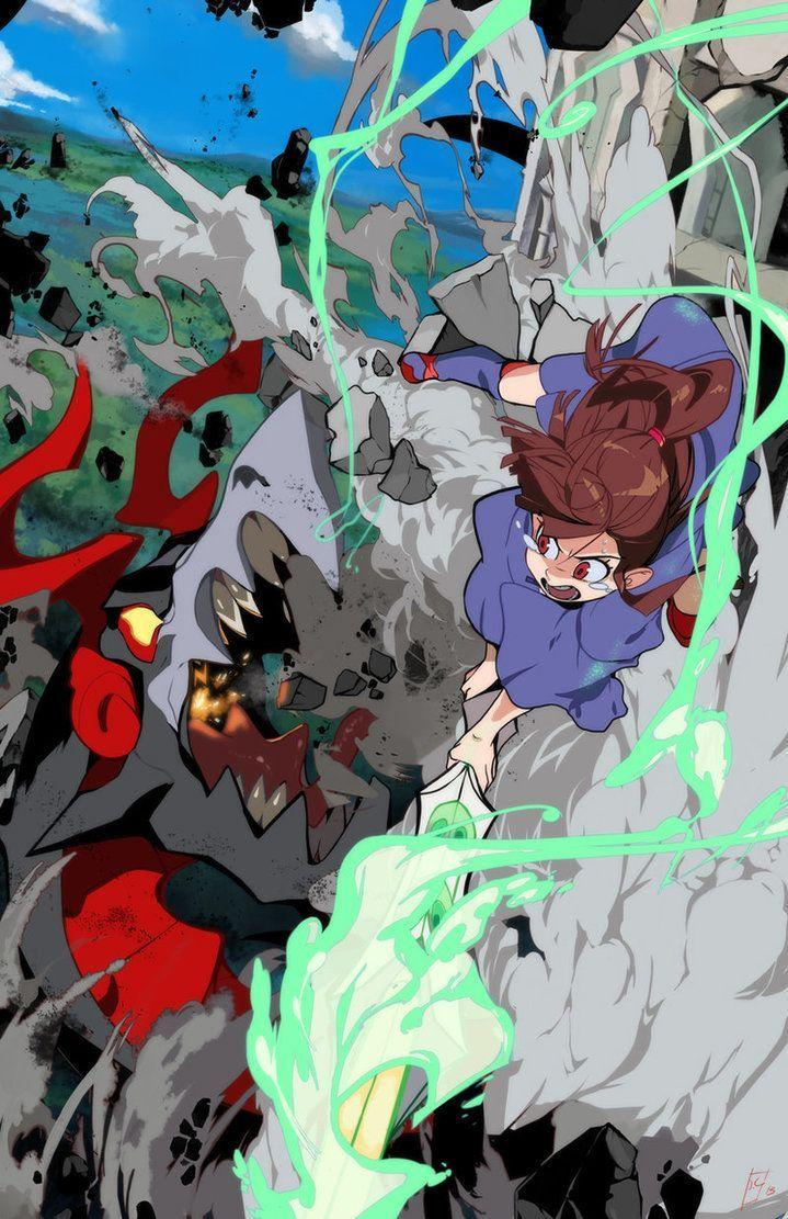 Little Witch Academia Wallpapers - Wallpaper Cave