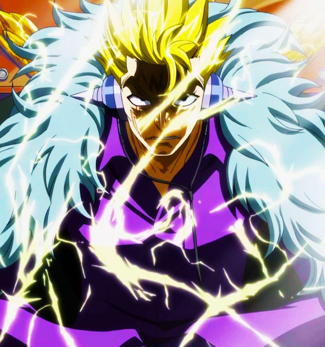 Fairy Tail Laxus Wallpapers Wallpaper Cave