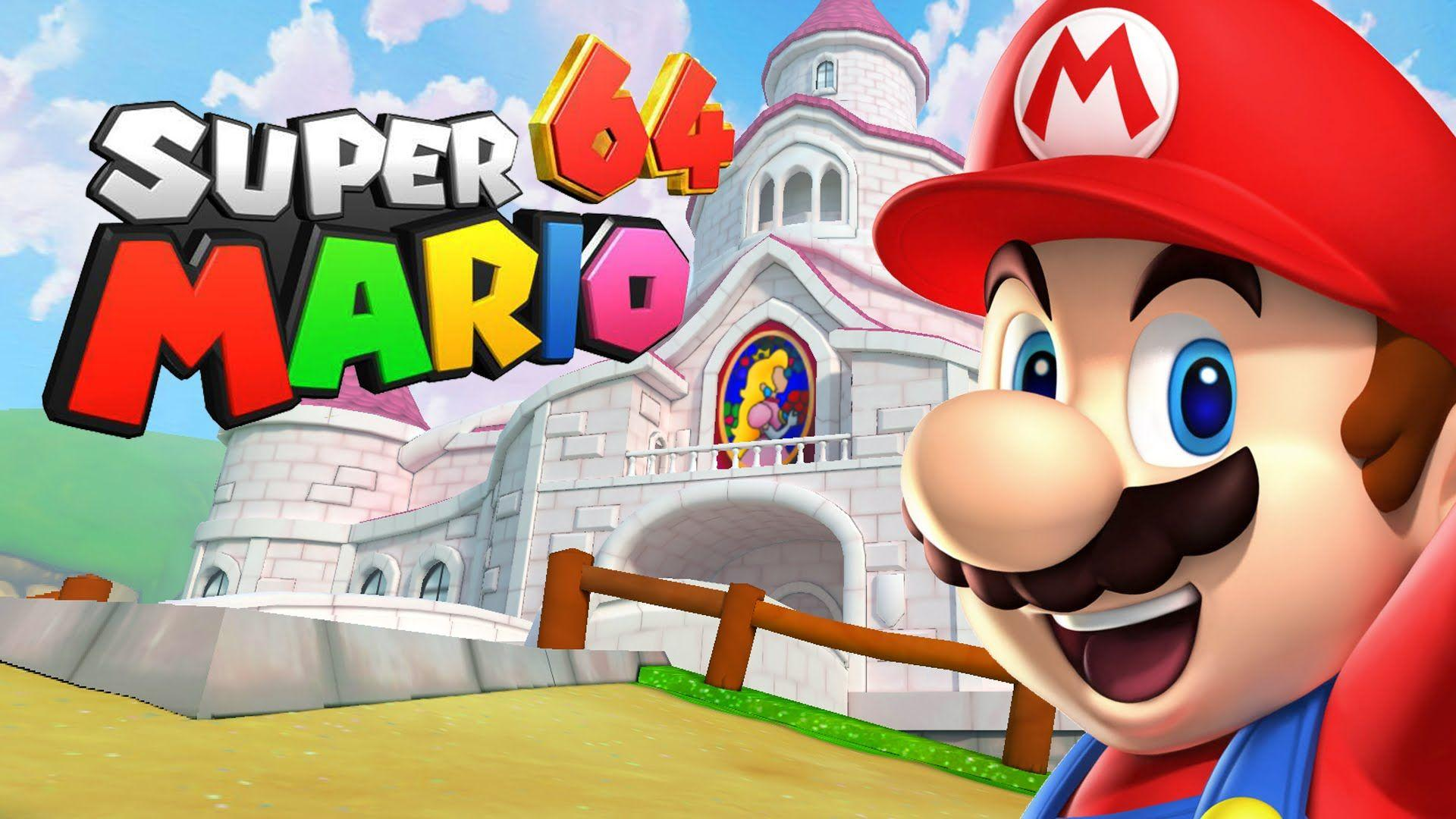 Super Mario 64 Wallpapers Wallpaper Cave