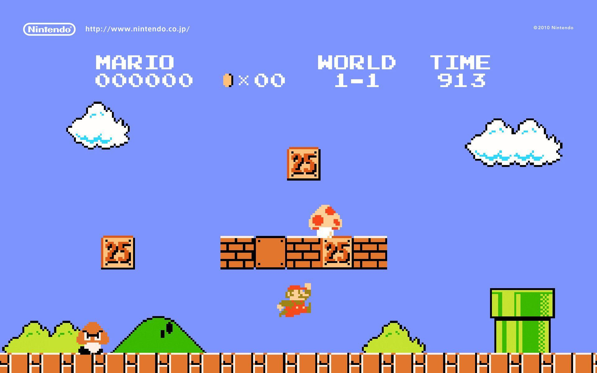 Super Mario 1985 Wallpapers Wallpaper Cave