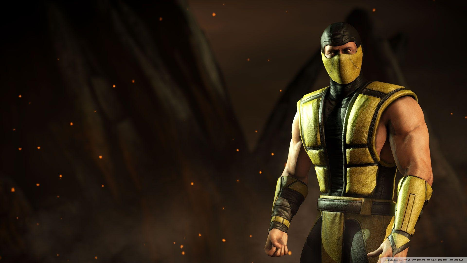 Mortal Kombat X Scorpion ❤ 4K HD Desktop Wallpapers for 4K Ultra HD