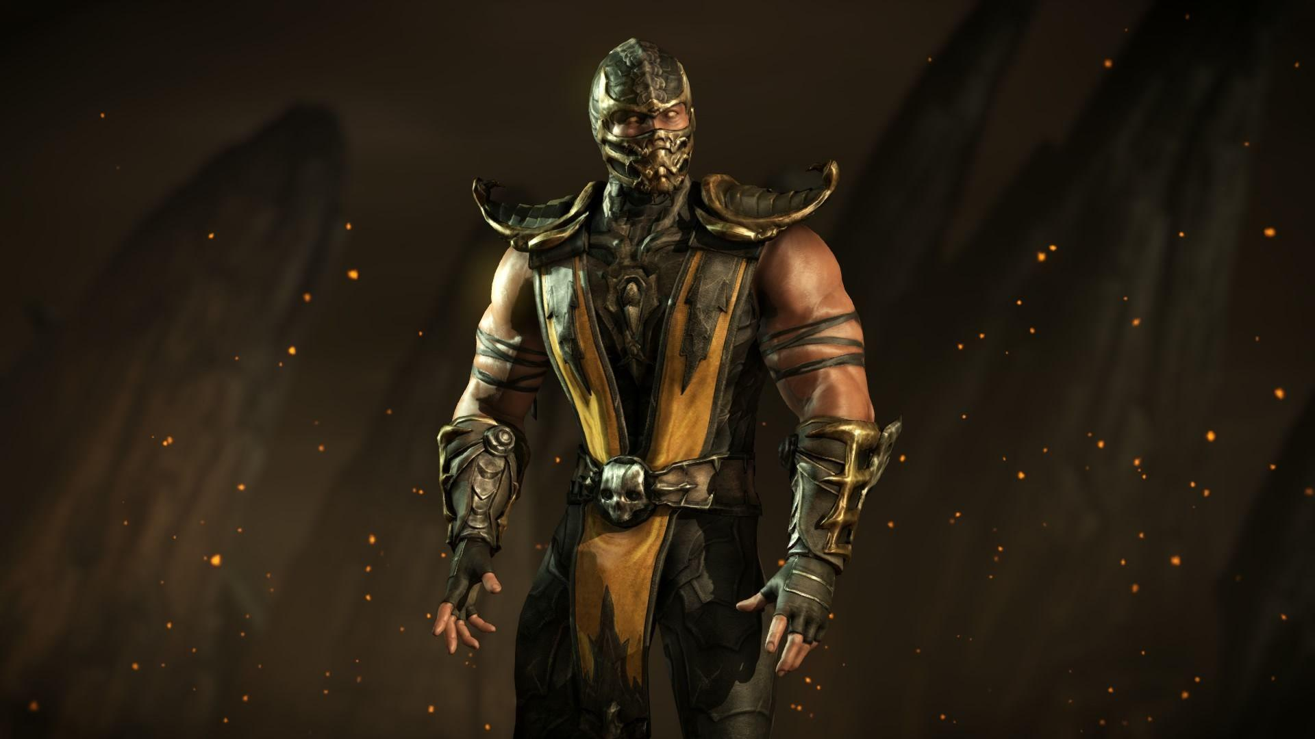 Mortal Kombat X:Scorpion 02 by Kabukiart157