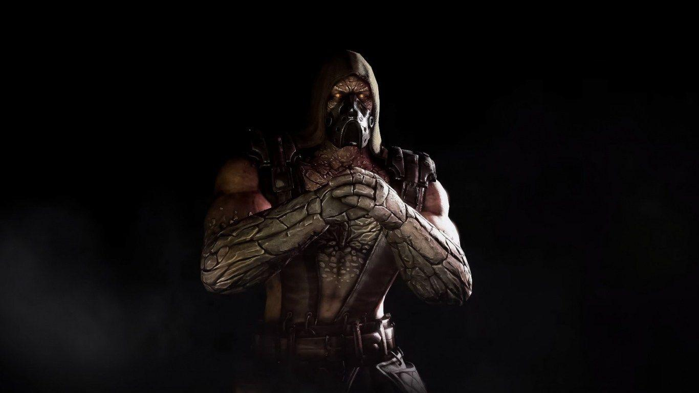 HD Backgrounds Tremor Mortal Kombat X Scorpion Game Character